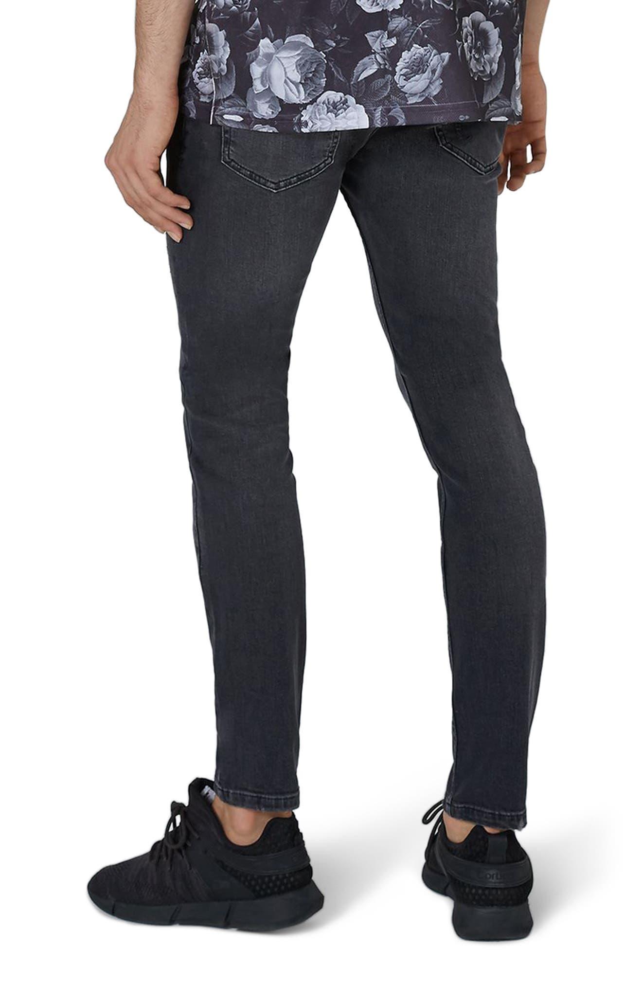 Alternate Image 2  - Topman Frankie Super Skinny Jeans