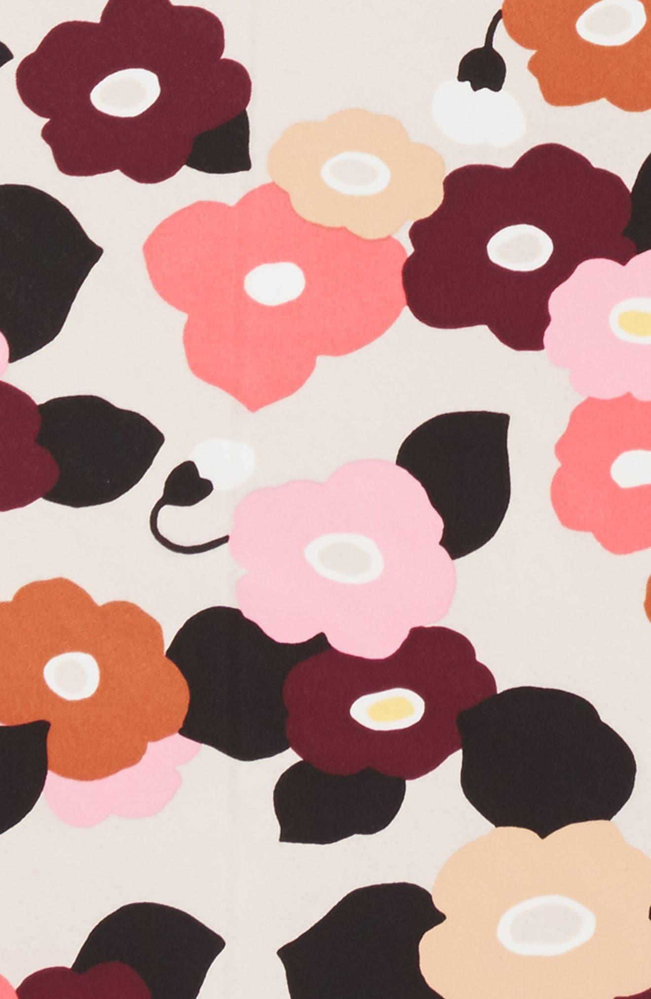 blooming silk bandana,                             Alternate thumbnail 3, color,                             Rose Dew