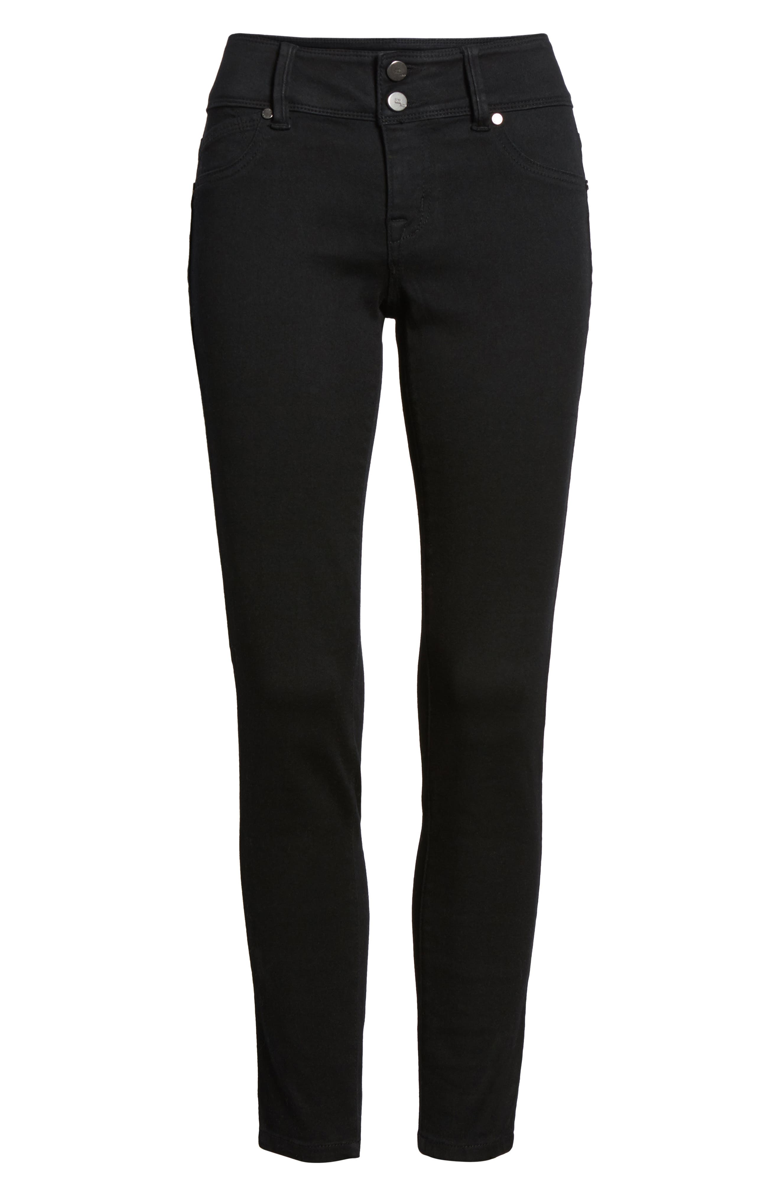 Alternate Image 6  - 1822 Denim Butter Two-Button Skinny Jeans