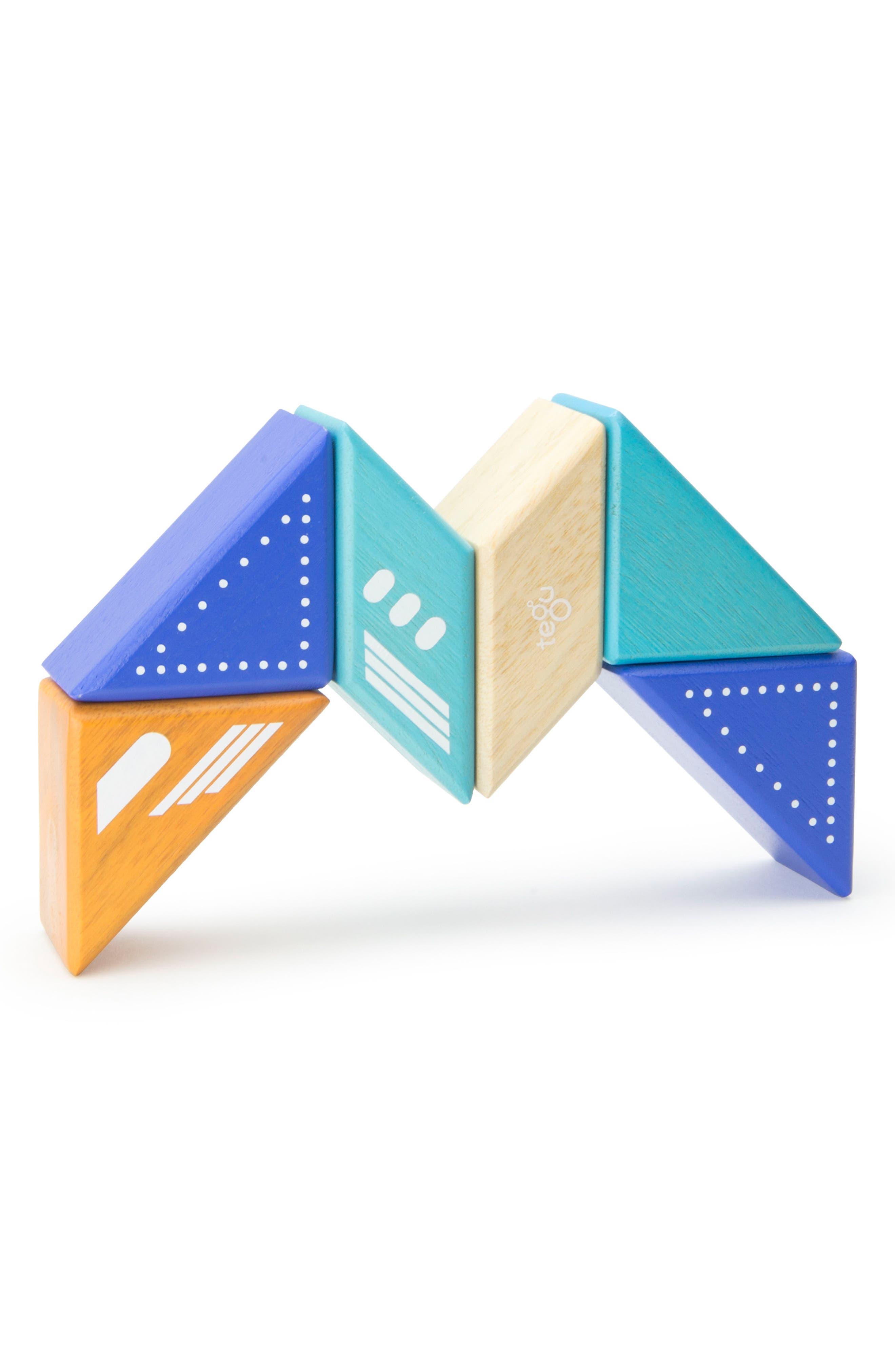 Travel Pals 6-Piece Jet Magnetic Block Set,                             Alternate thumbnail 6, color,                             Blue
