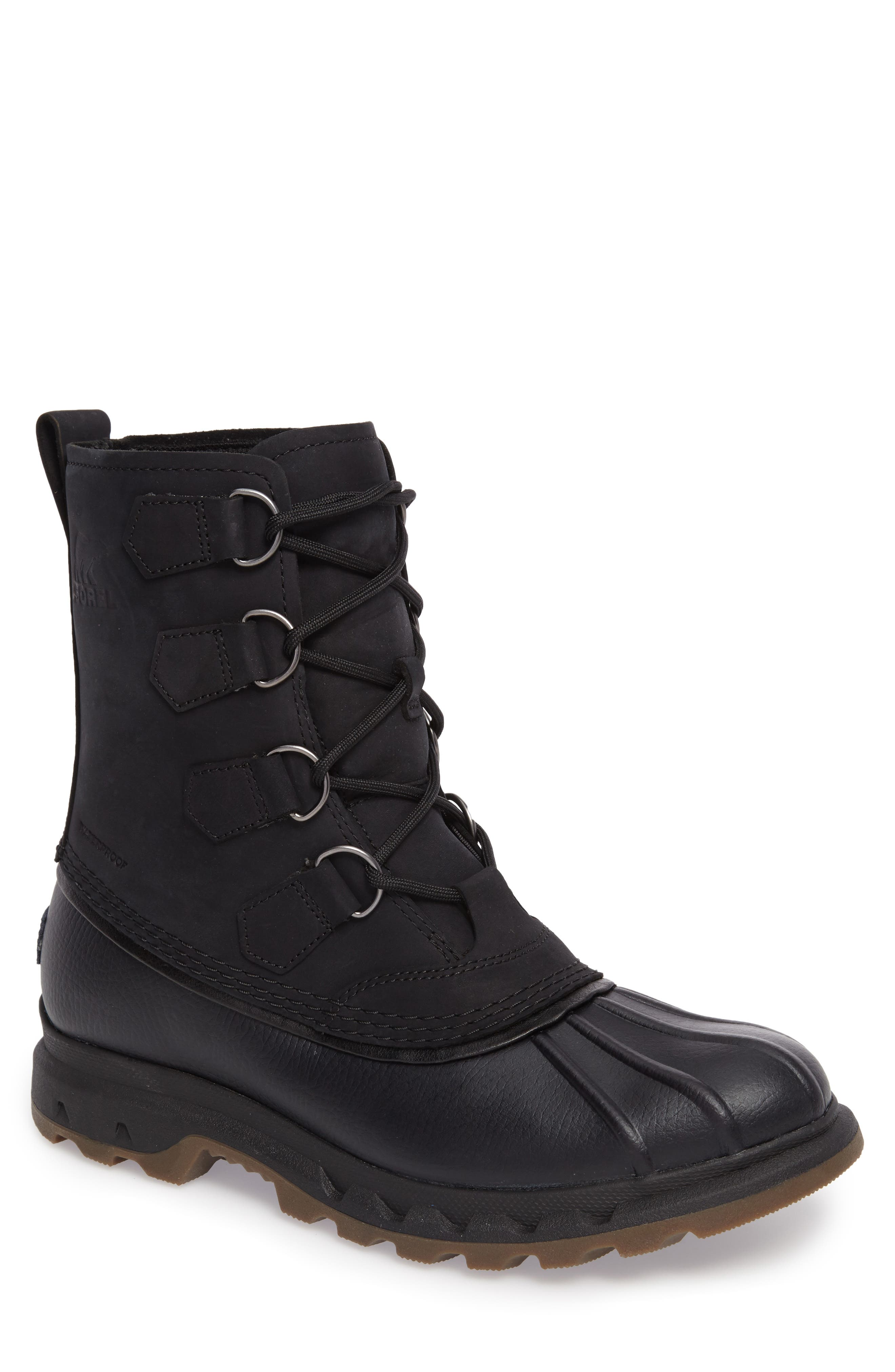 Portzman Classic Rain Boot,                             Main thumbnail 1, color,                             Black