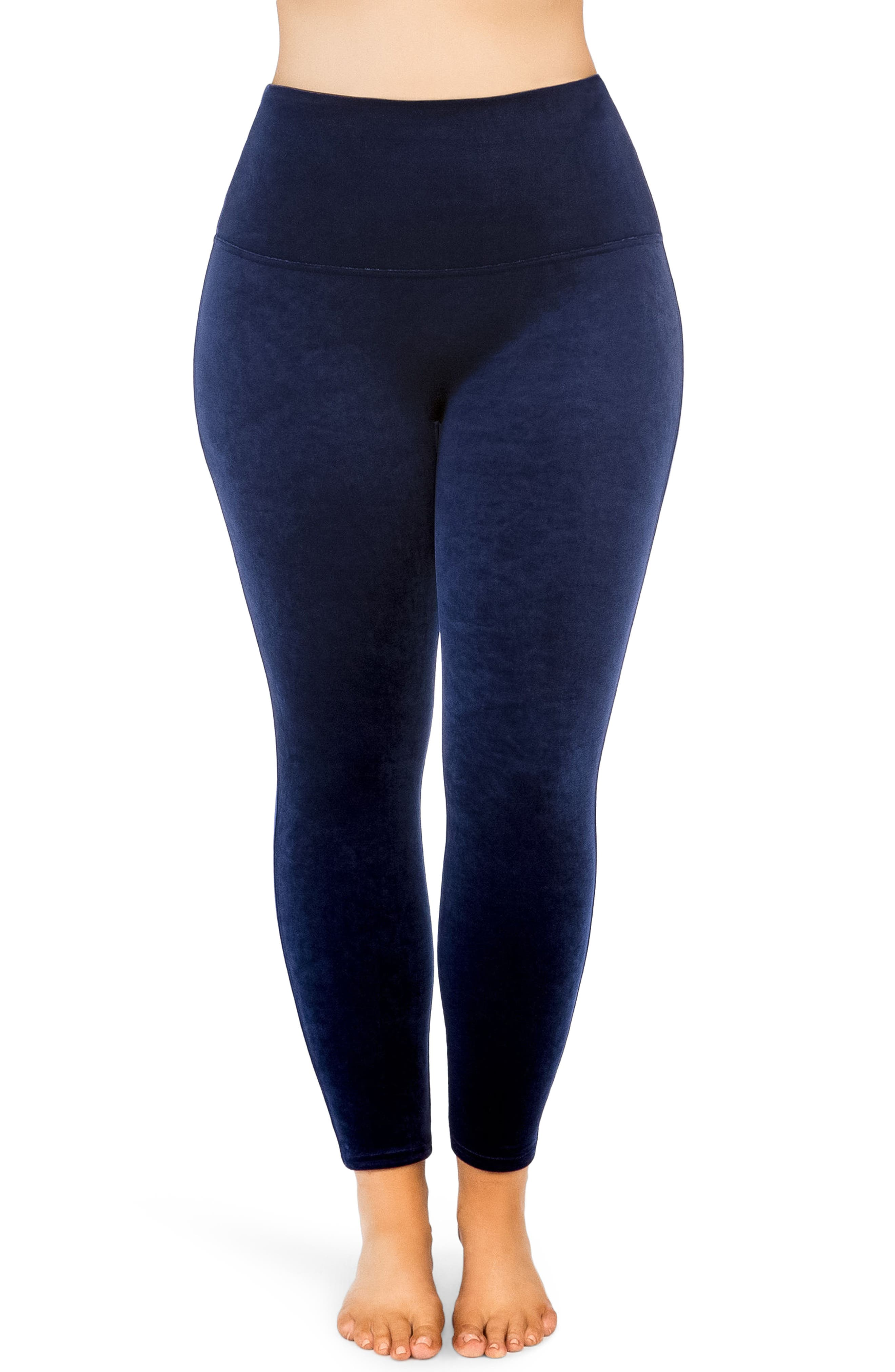 SPANX® Velvet Leggings (Plus Size)