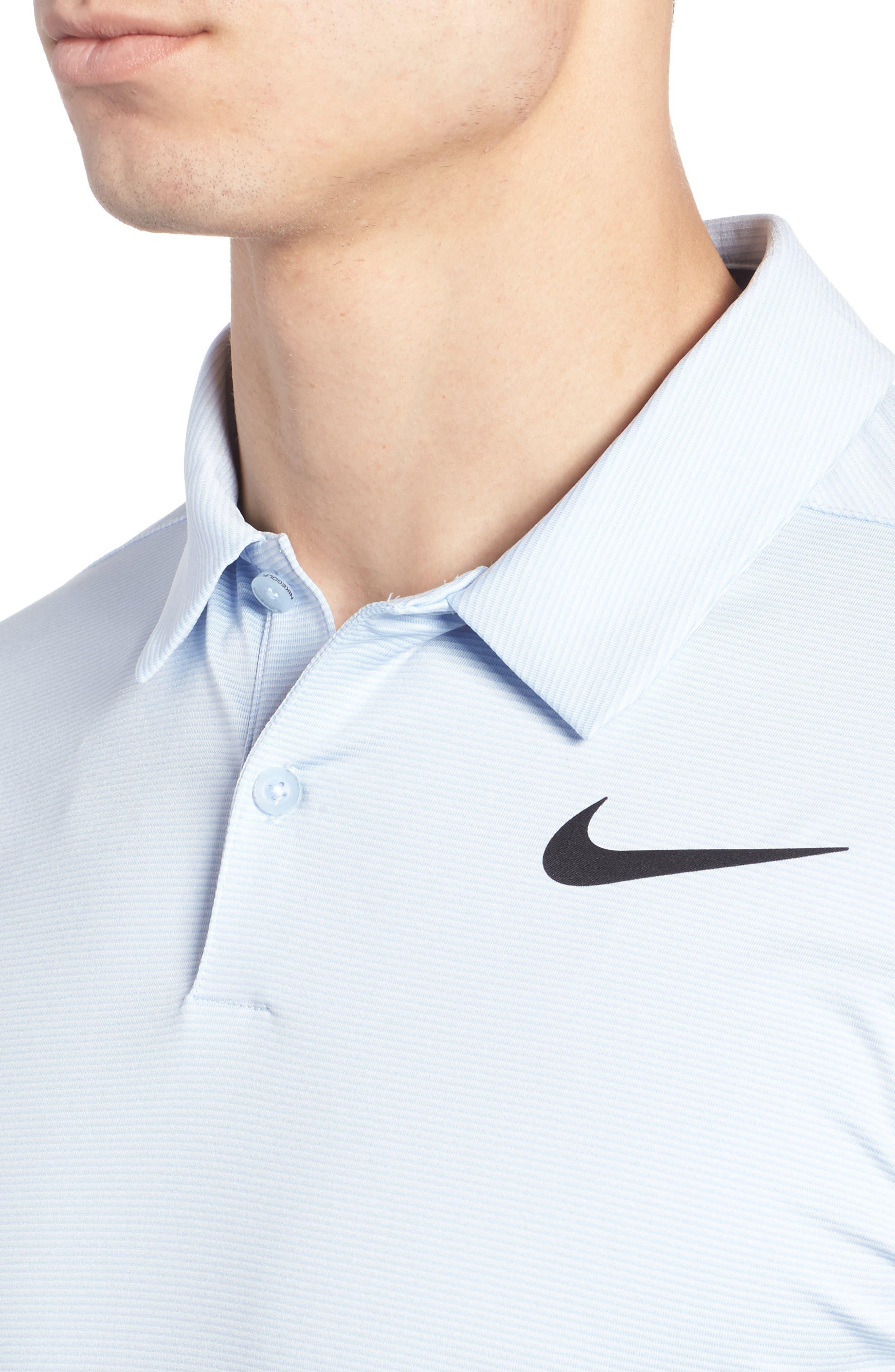 Alternate Image 4  - Nike Dry Control Stripe Polo
