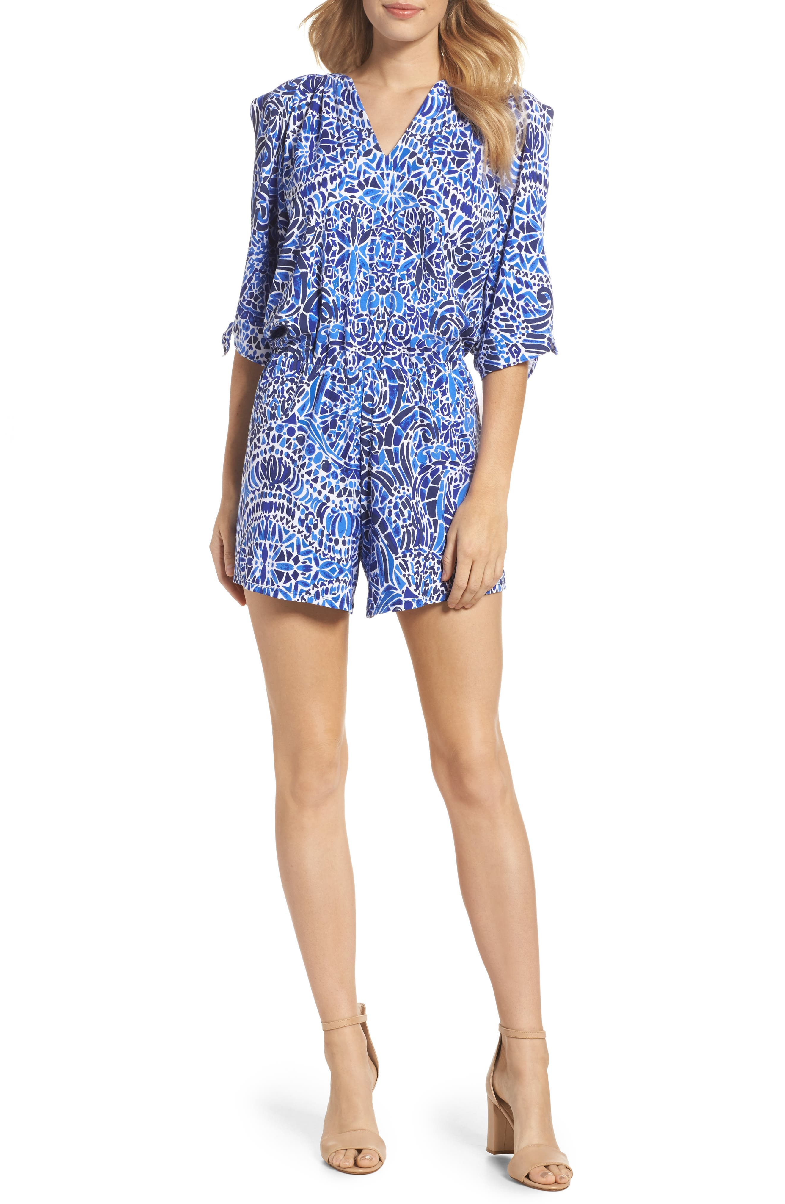 Alternate Image 1 Selected - Lilly Pulitzer® Bryce Romper