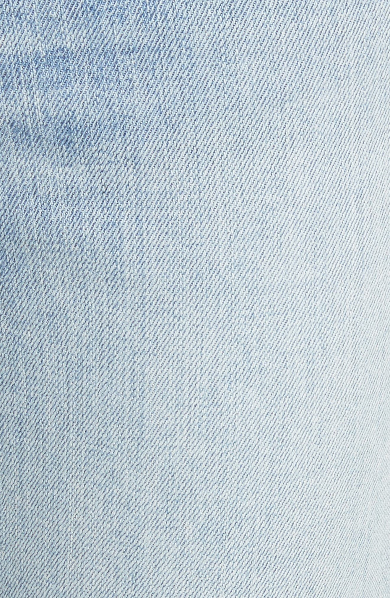 Alternate Image 5  - rag & bone/JEAN Cigarette Leg Jeans (Double Down)