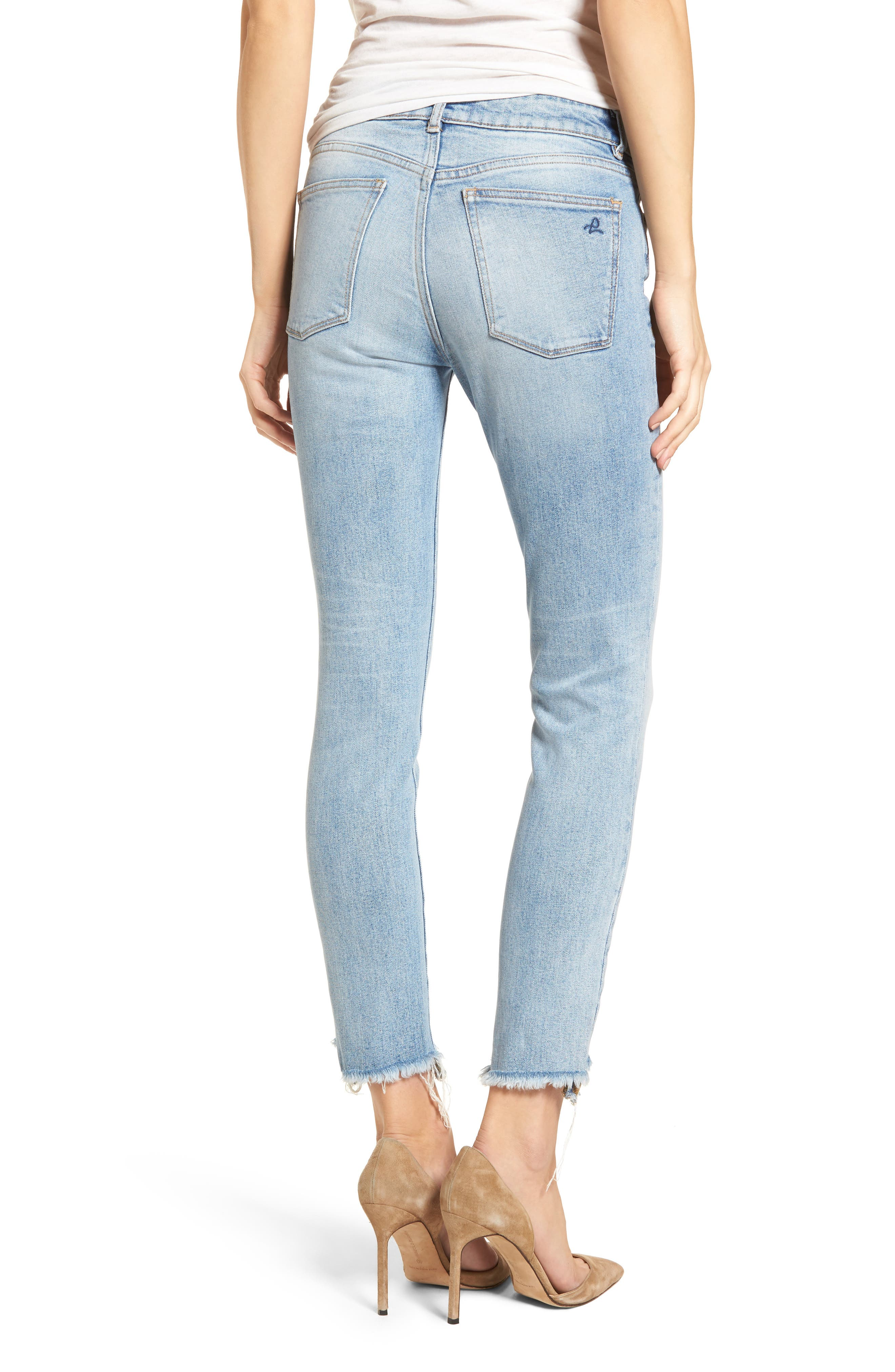 Margaux Instasculpt Ankle Skinny Jeans,                             Alternate thumbnail 2, color,                             Promenade