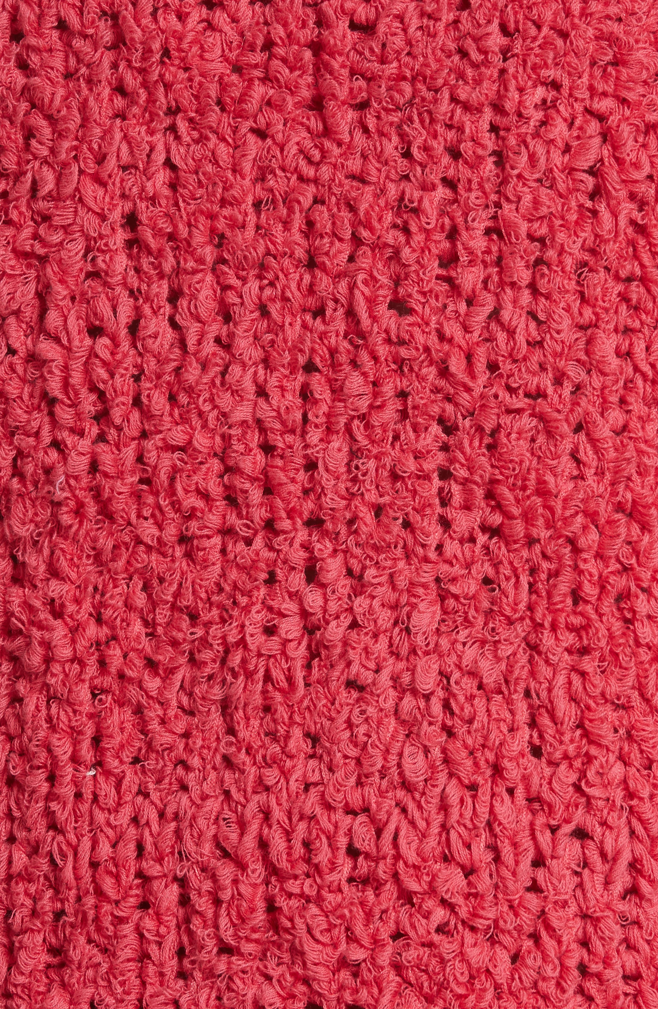 Sand Dune Sweater,                             Alternate thumbnail 5, color,                             Pink