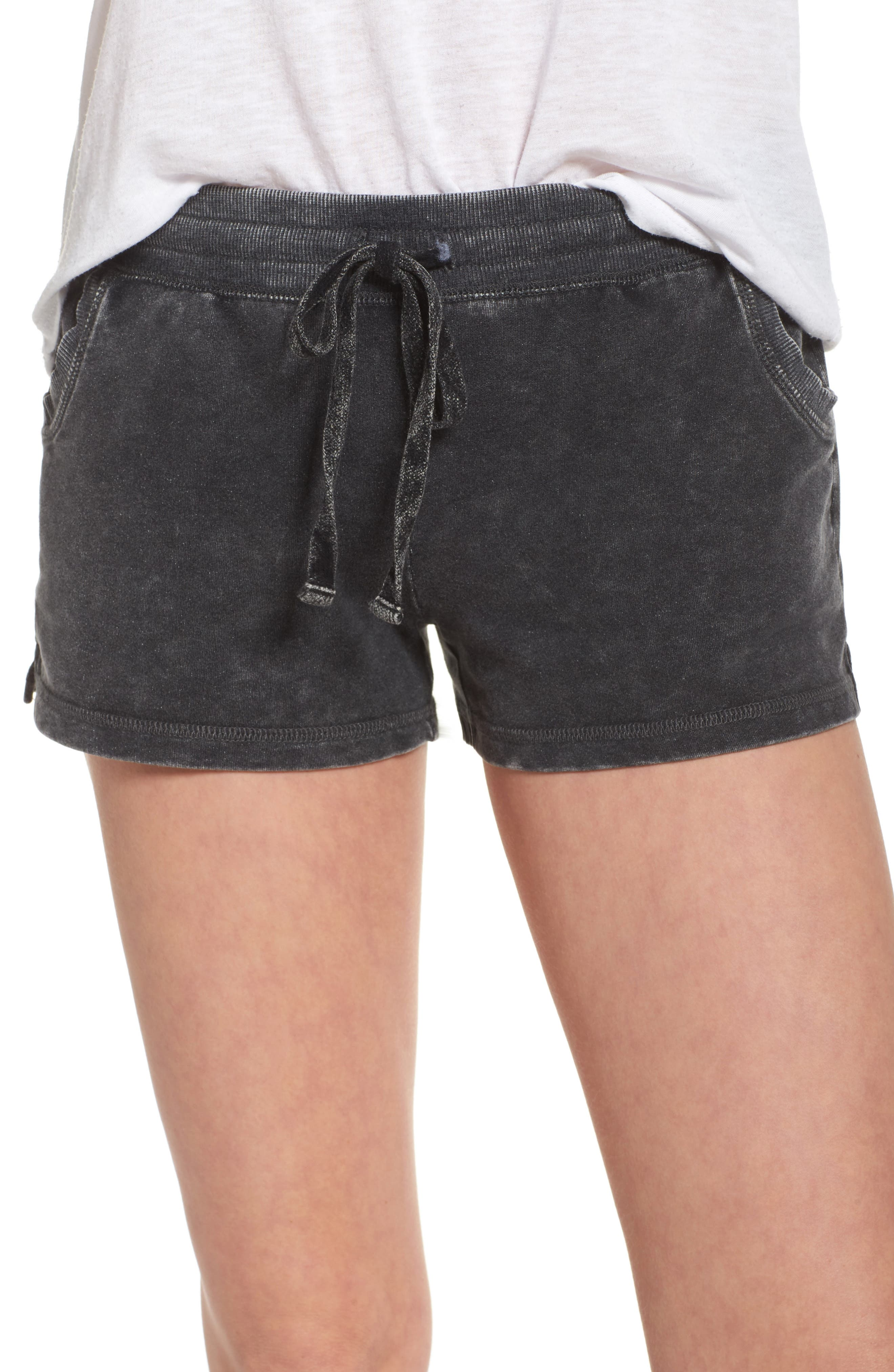 Lounge Shorts,                             Main thumbnail 1, color,                             Black