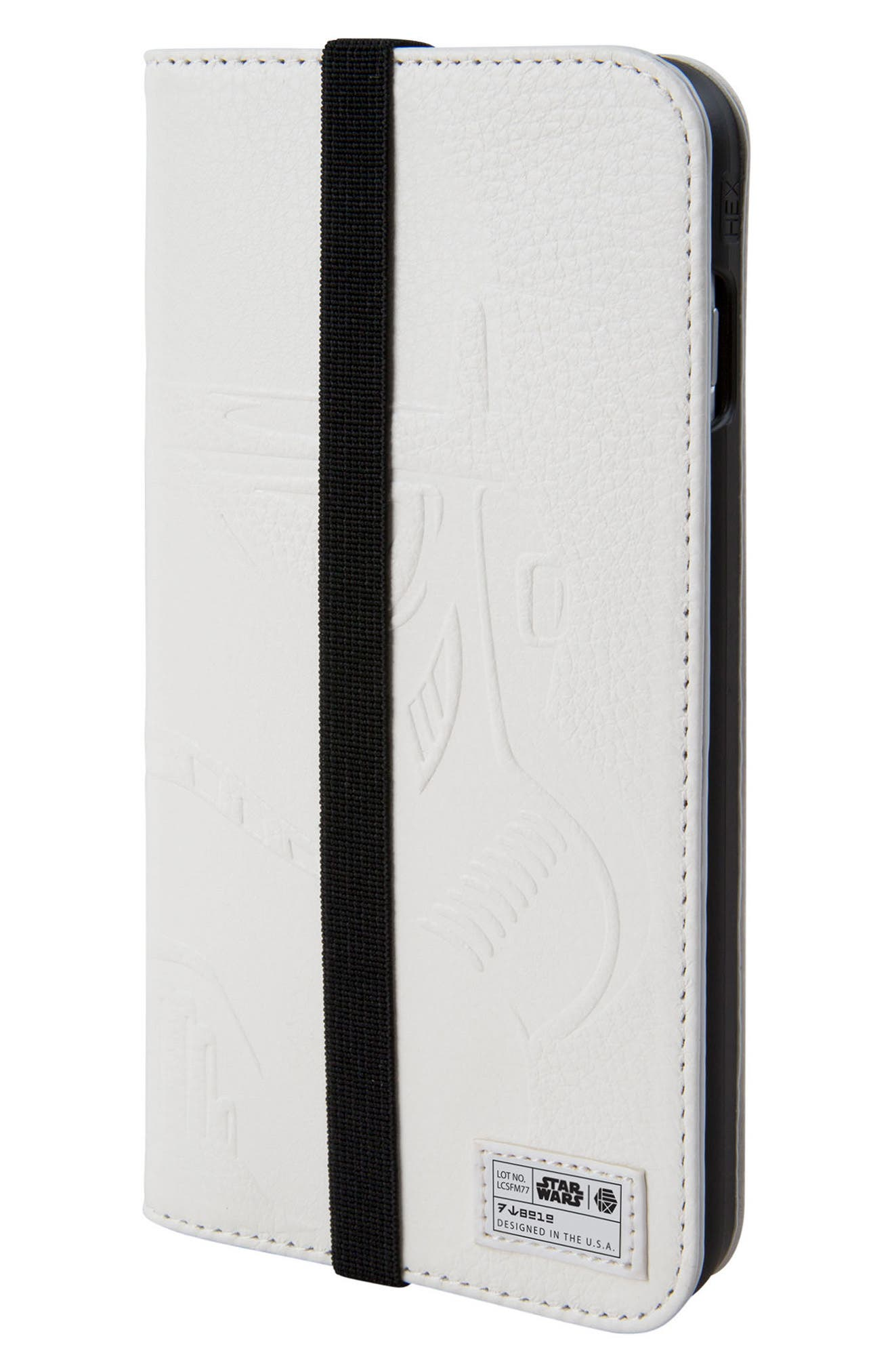 Stormtrooper iPhone 8 Plus Wallet Case,                         Main,                         color, White