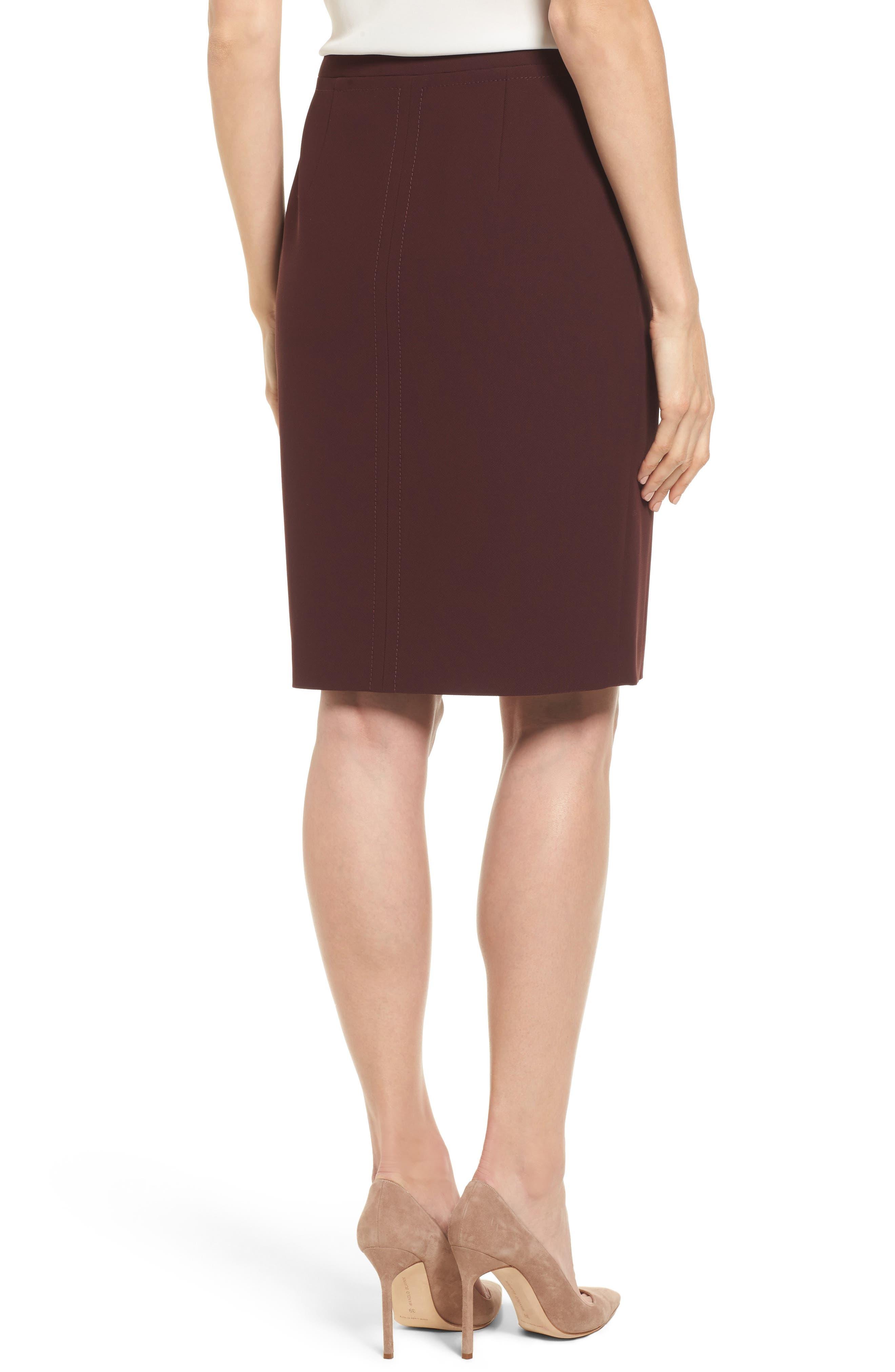 Vuriona Suit Skirt,                             Alternate thumbnail 2, color,                             Mulberry