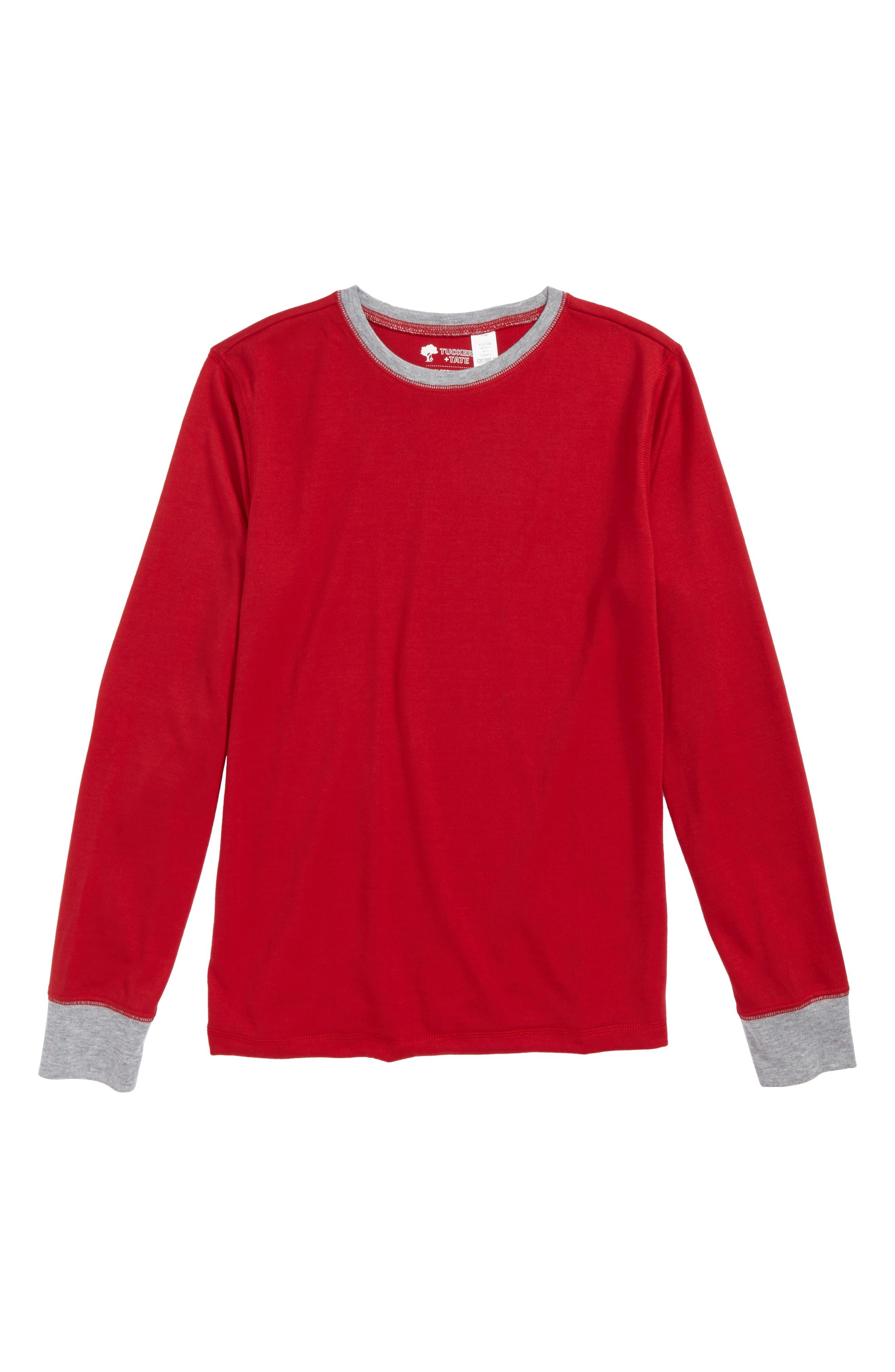 Tucker & Tate Long Sleeve Sleep T-Shirt (Little Boys & Big Boys)