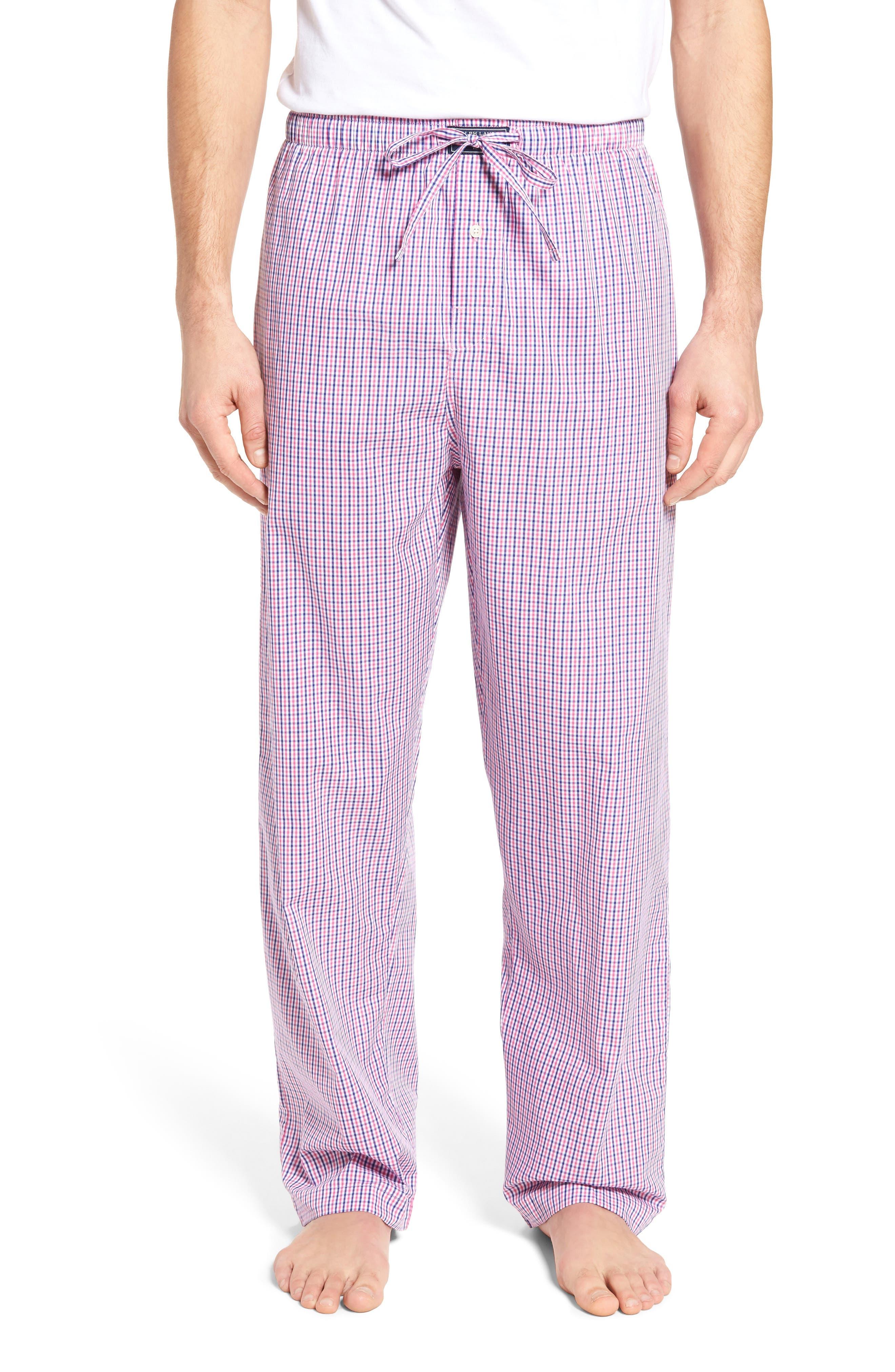 Polo Ralph Lauren Plaid Cotton Lounge Pants