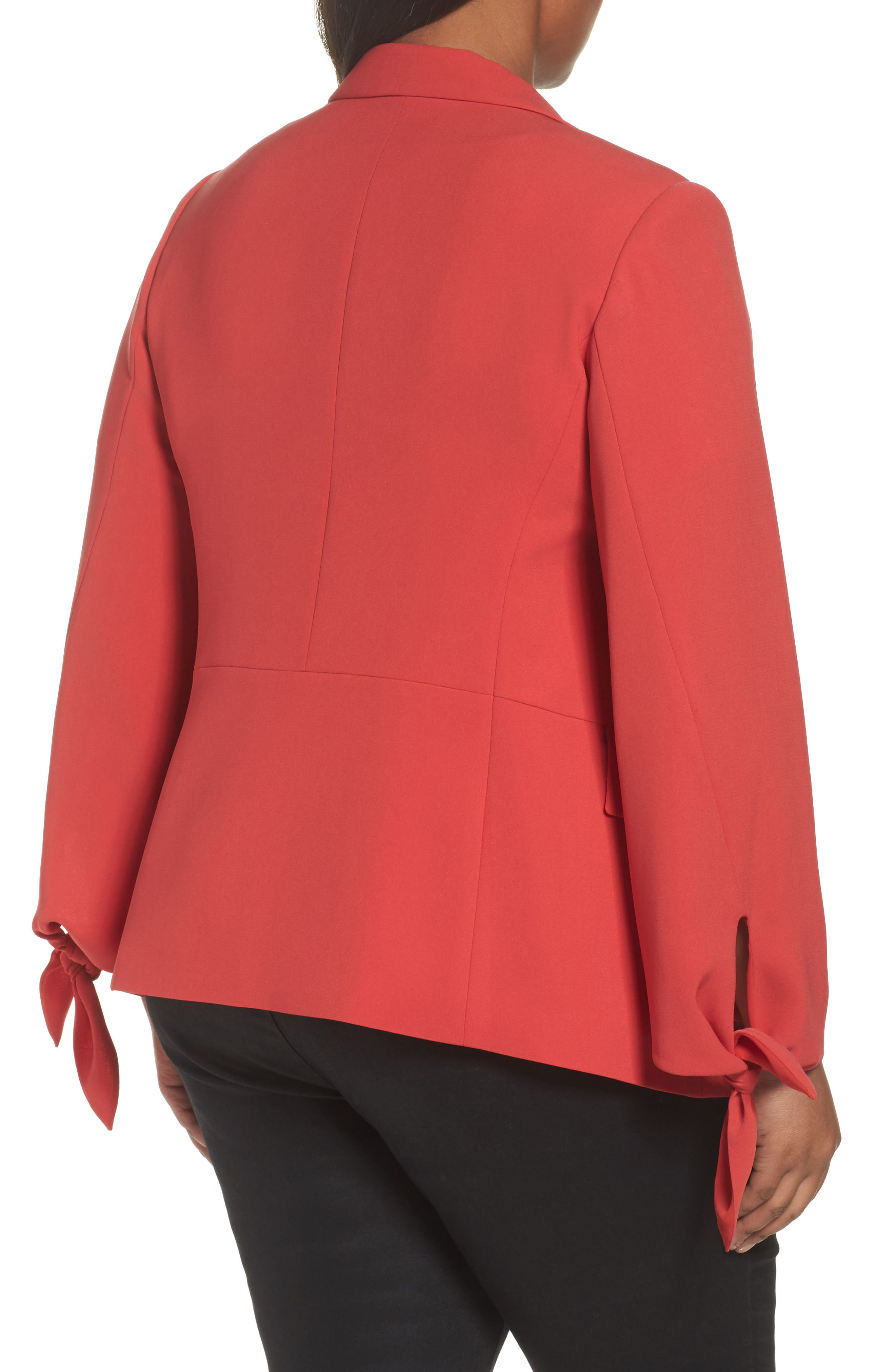 Bria Finesse Crepe Jacket,                             Alternate thumbnail 2, color,                             Salsa