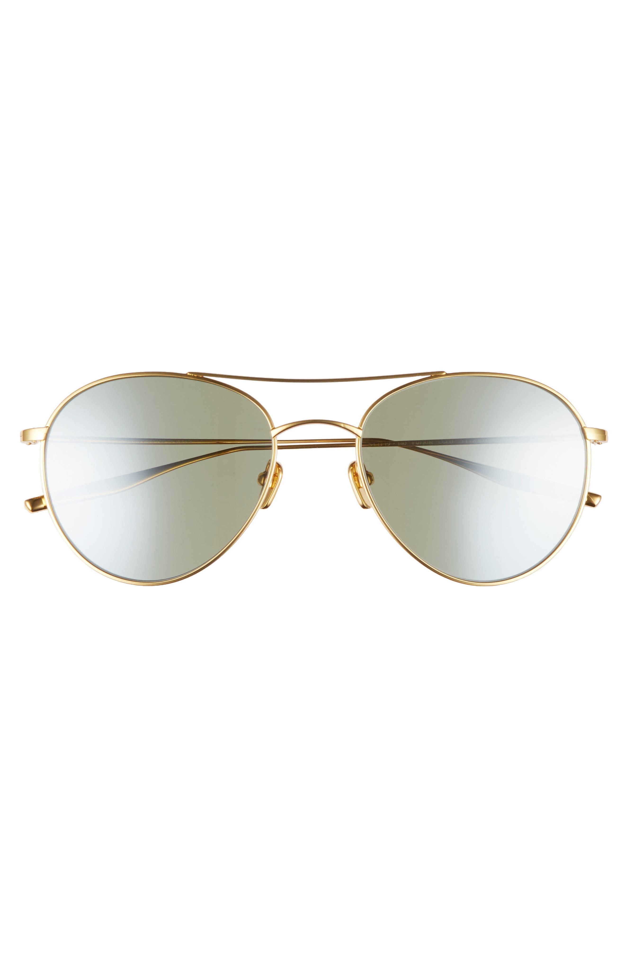 Alternate Image 3  - Salt 54mm Polarized Round Sunglasses