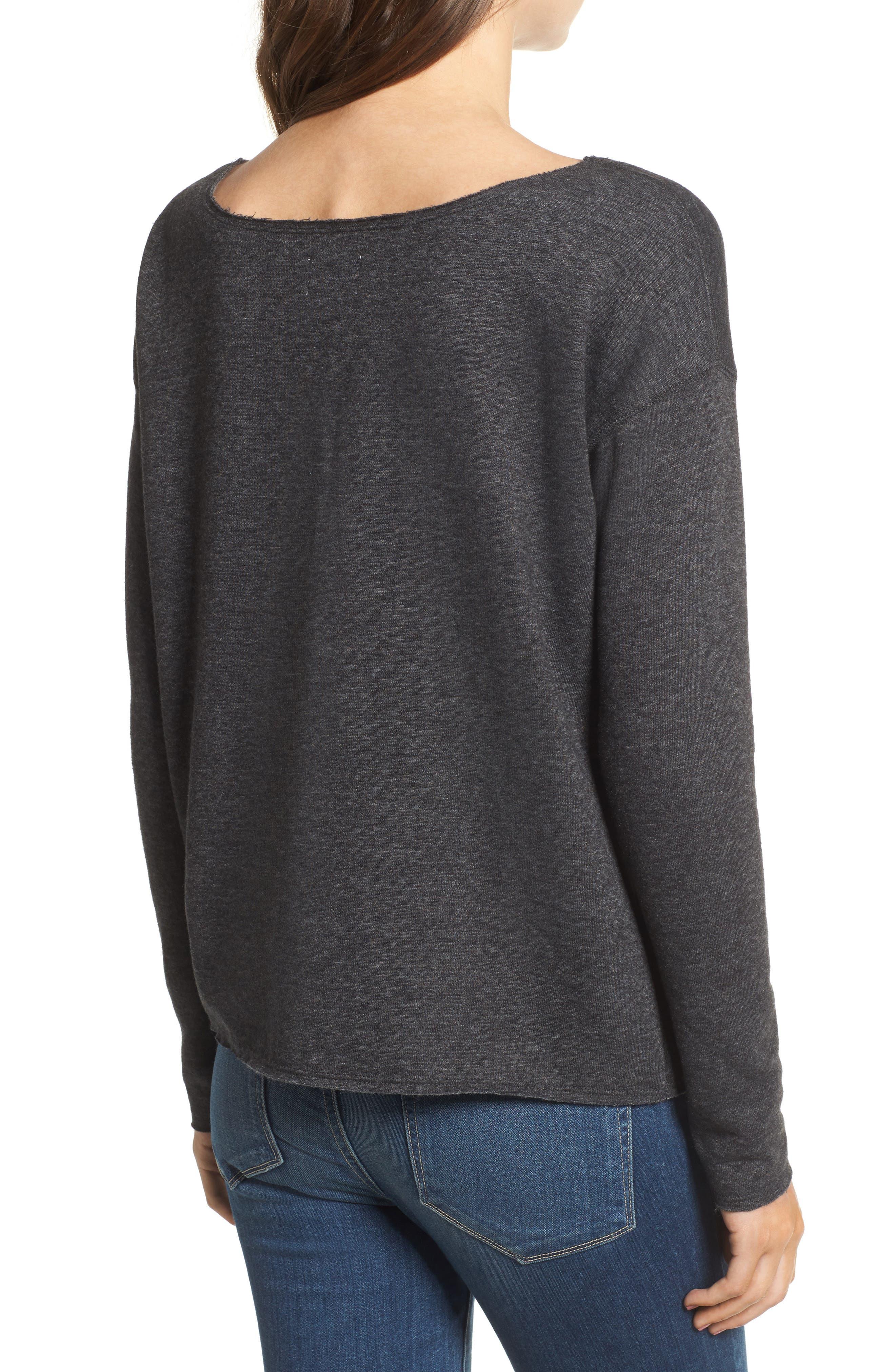 Alternate Image 2  - Sundry Less Monday More Sunday Sweatshirt