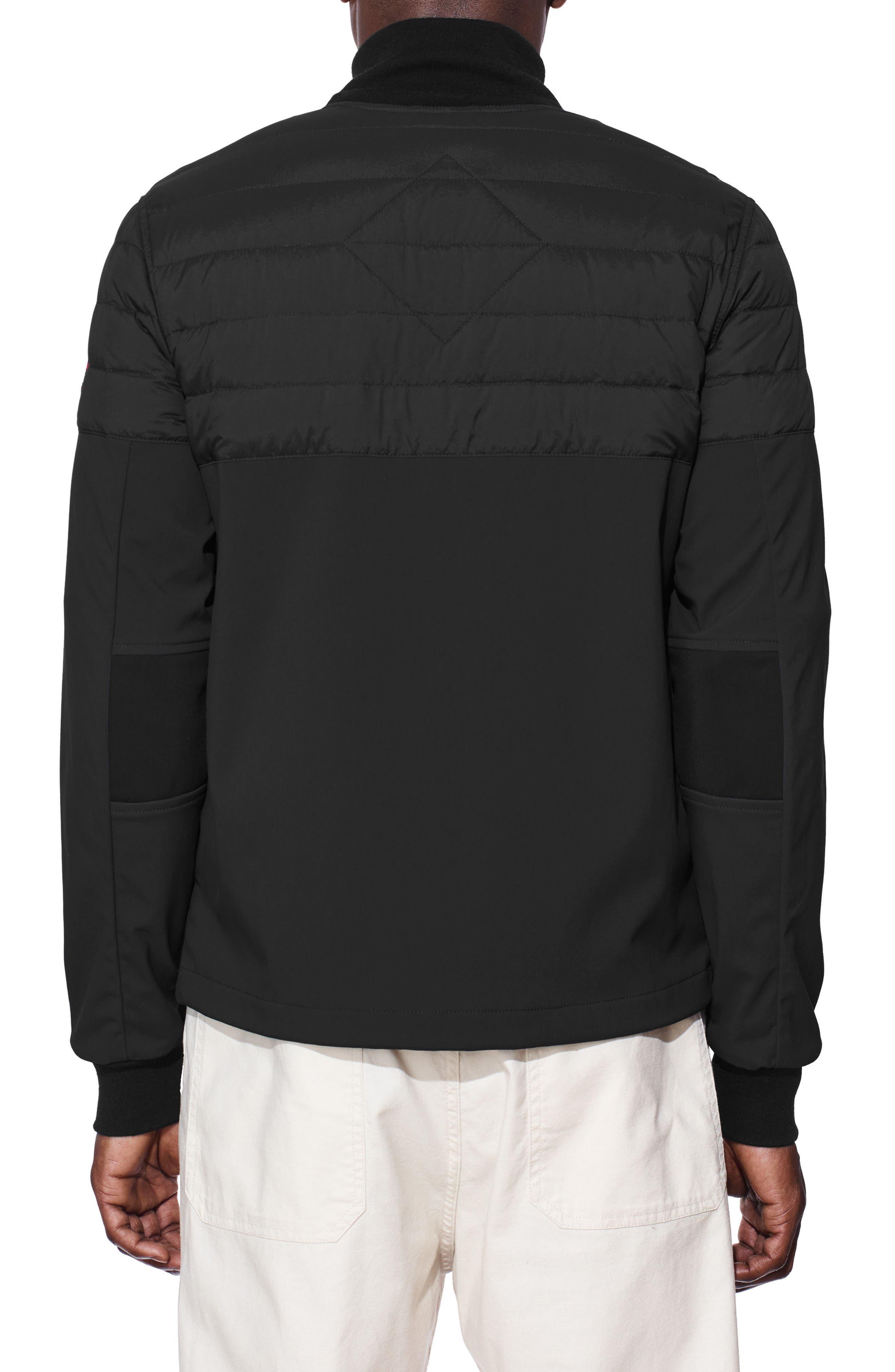 Canade Goose Jericho Beach Down Filled Jacket,                             Alternate thumbnail 2, color,                             Black/ Black