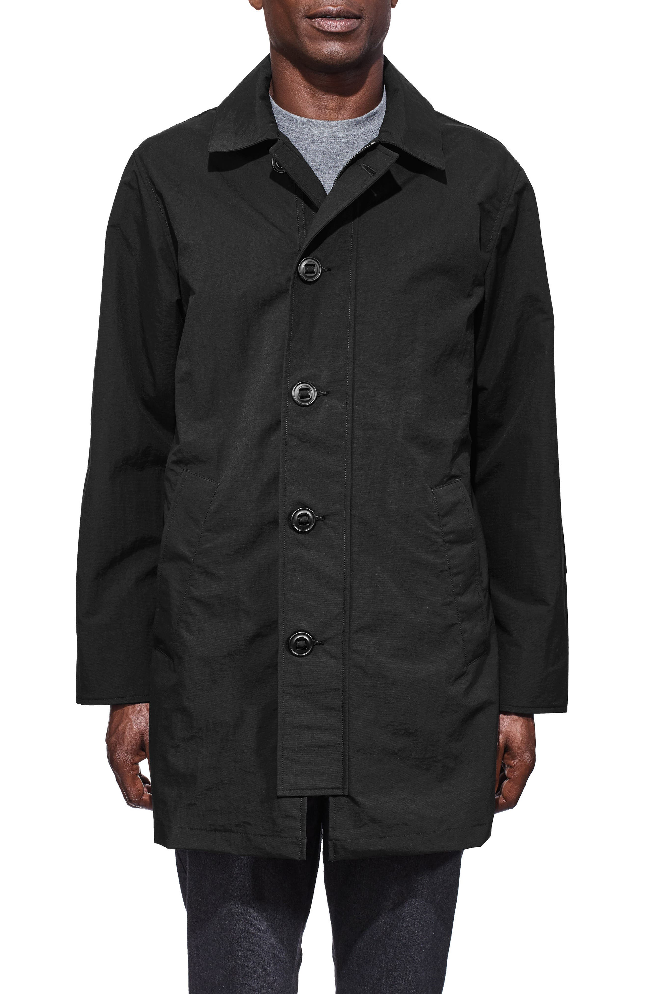 Wainwright Coat,                             Main thumbnail 1, color,                             Black