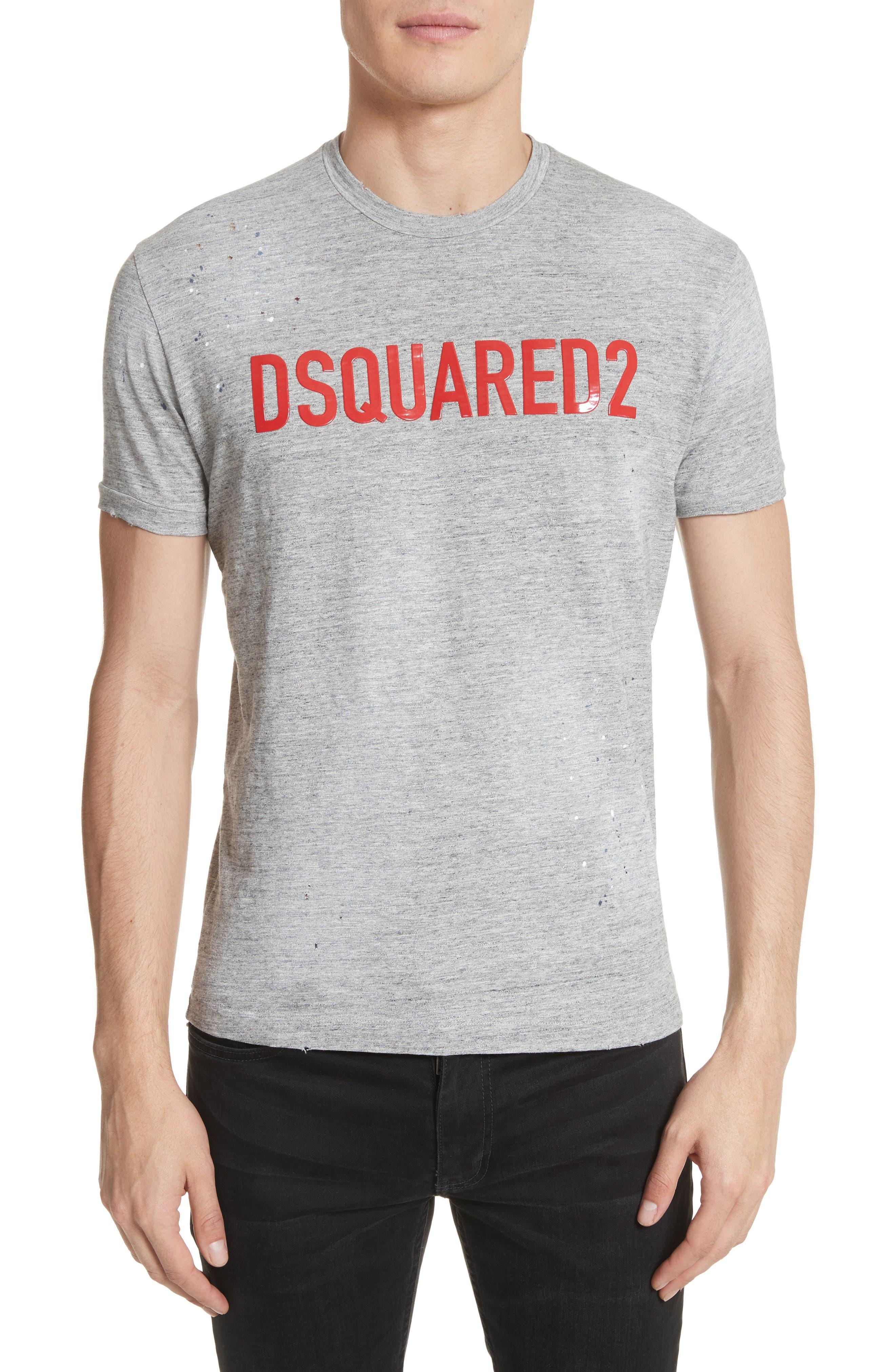 Logo T-Shirt,                             Main thumbnail 1, color,                             Grey