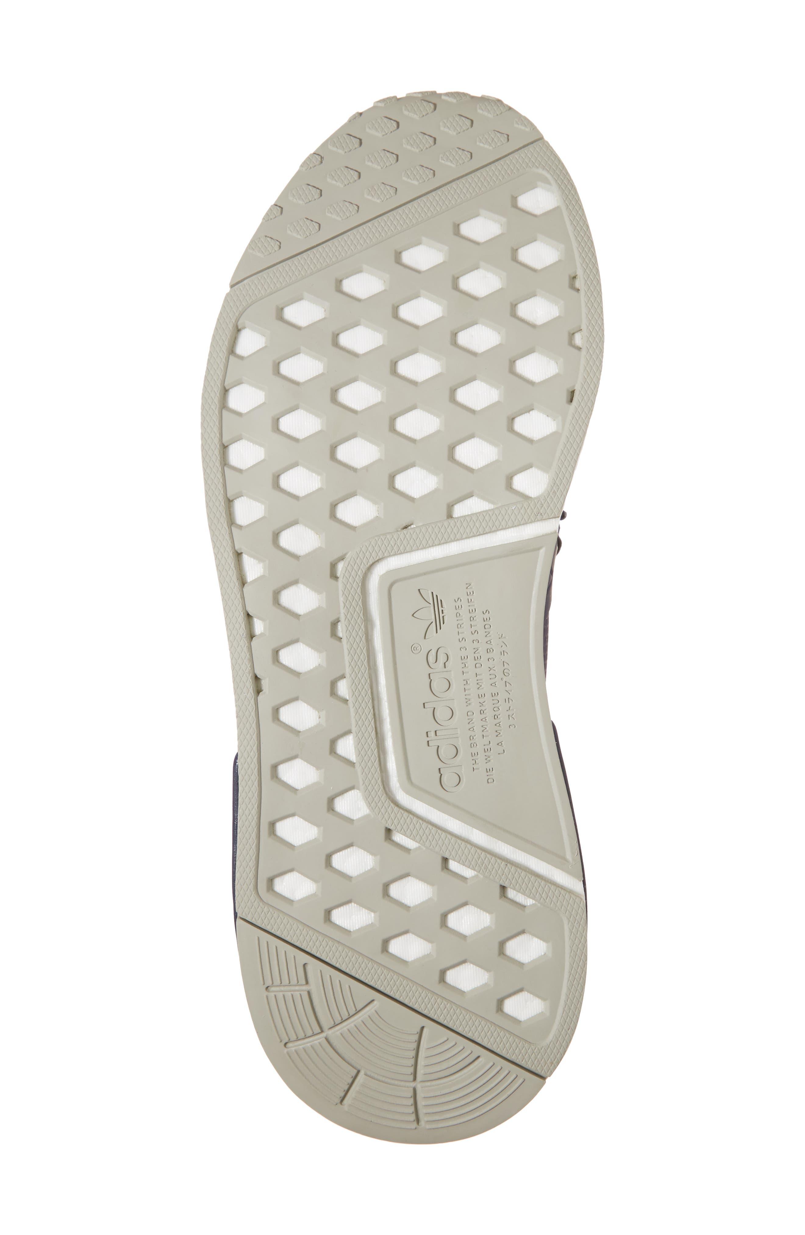 NMD XR1 Athletic Shoe,                             Alternate thumbnail 6, color,                             Trace Blue/ Sesame