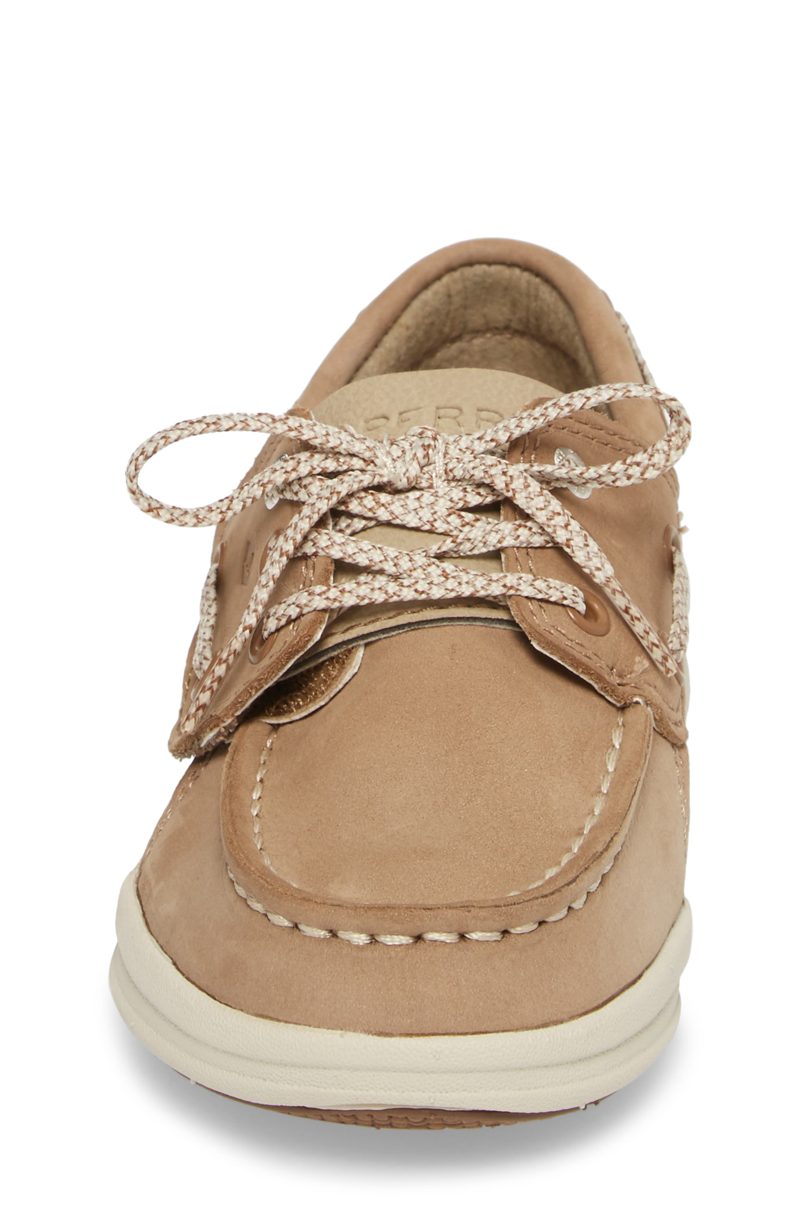 Alternate Image 4  - Sperry Kids Gamefish Boat Shoe (Walker & Toddler)