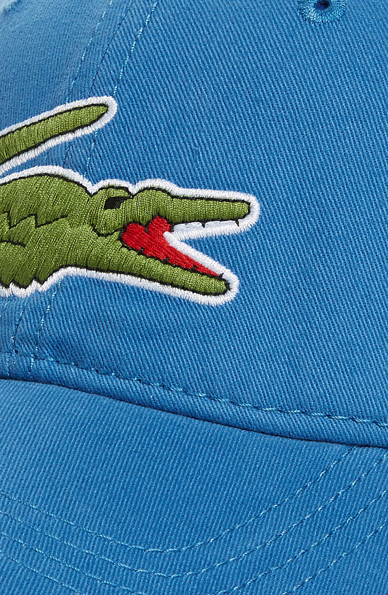 'Big Croc' Logo Embroidered Cap,                             Alternate thumbnail 3, color,                             Medway