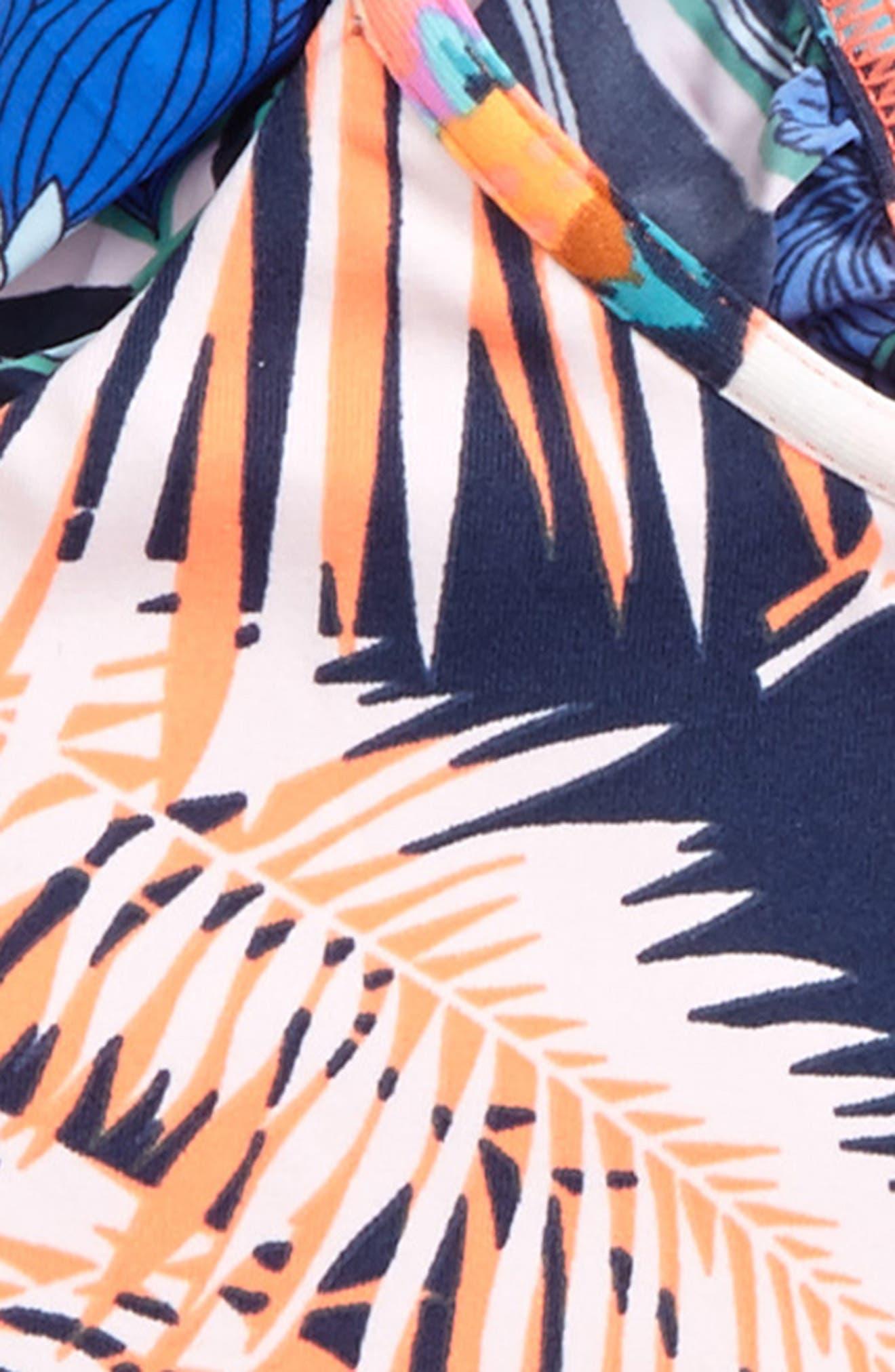 Seaside Palenque Two-Piece Swimsuit,                             Alternate thumbnail 3, color,                             Blue