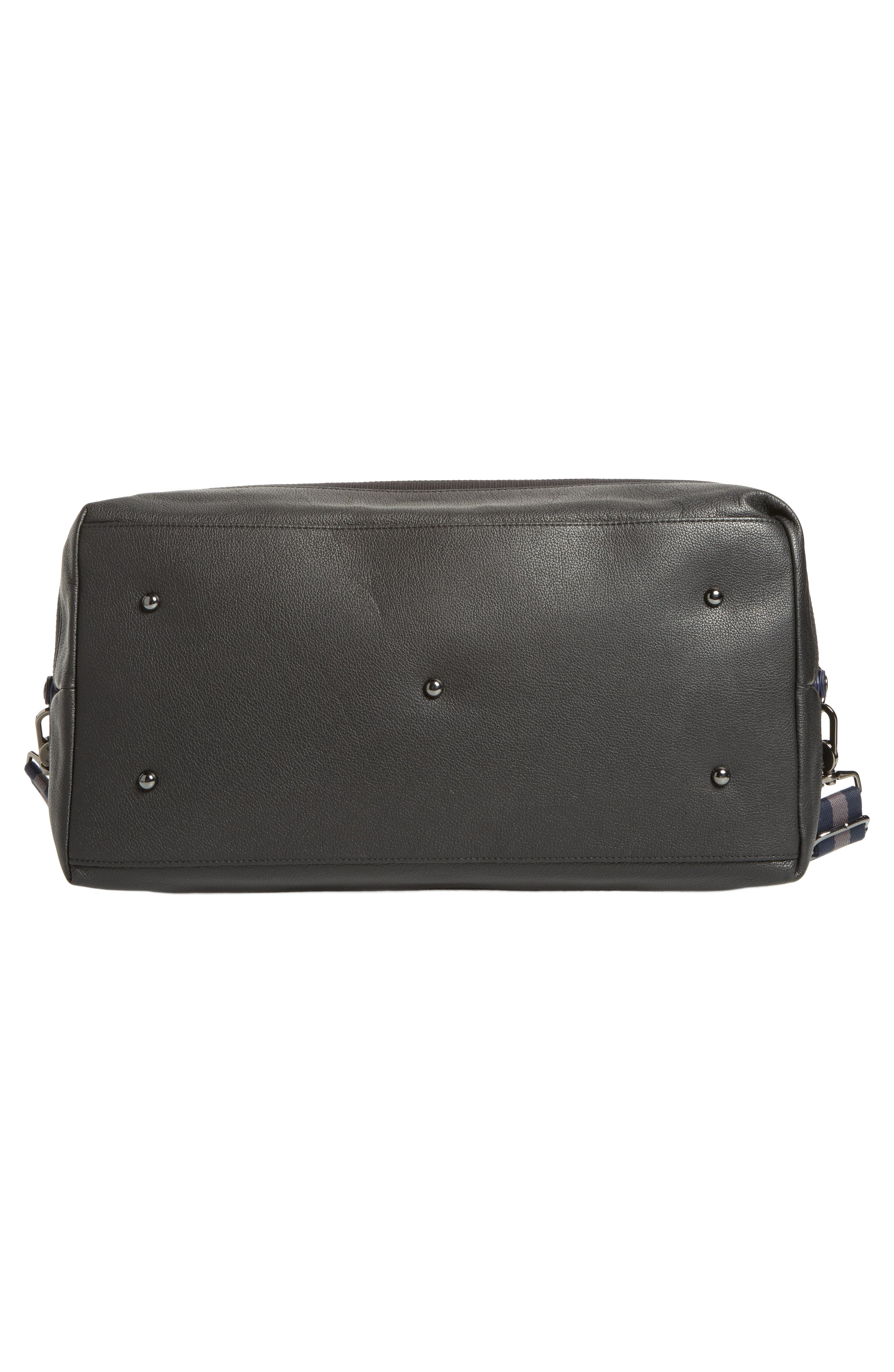 Mylow Duffel Bag,                             Alternate thumbnail 6, color,                             Black