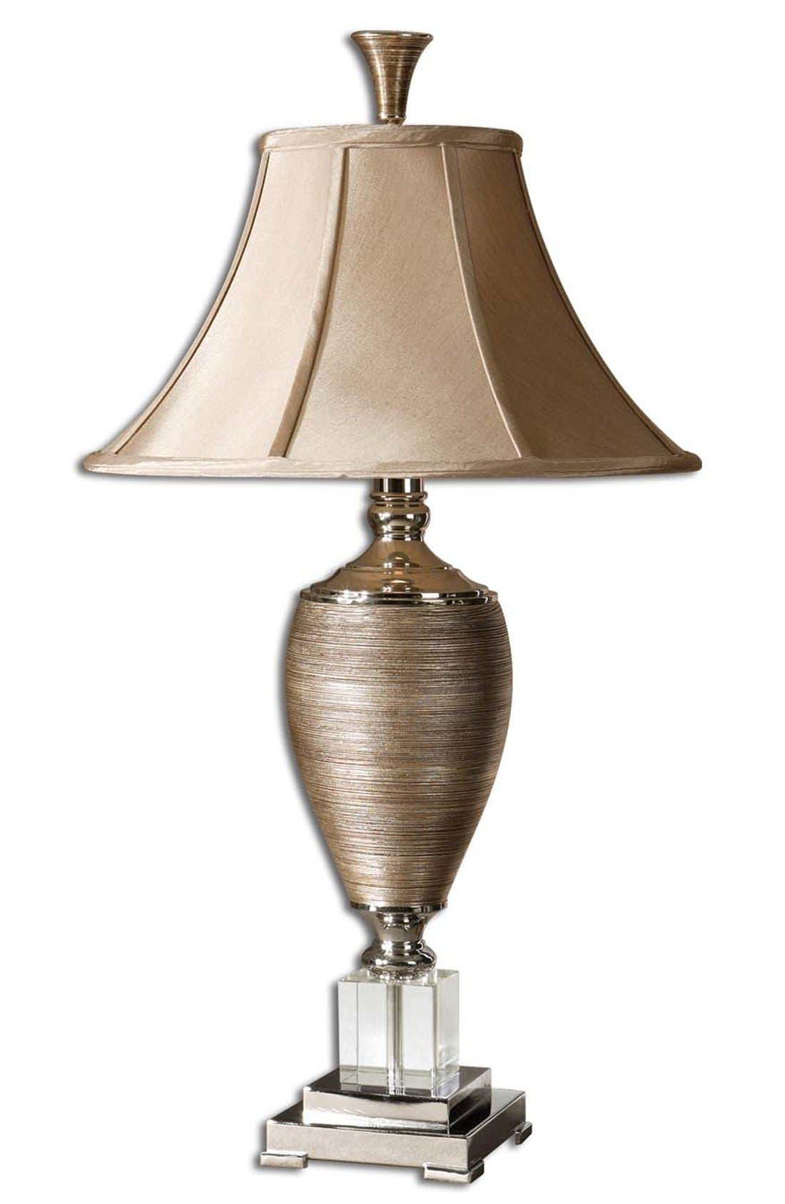 'Abriella' Table Lamp,                             Main thumbnail 1, color,                             Gold