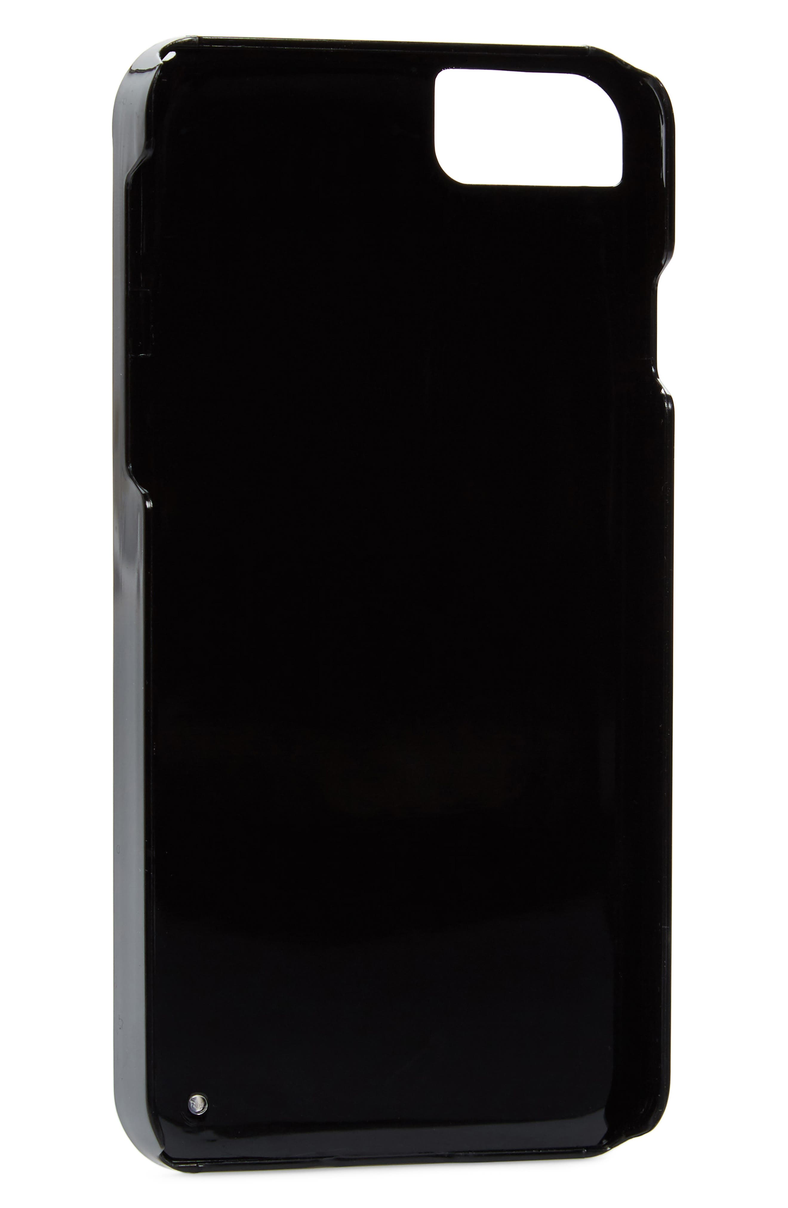 Skinny Dip Castor iPhone 6/6s/7/8 & 6/6s/7/8 Plus Case,                             Alternate thumbnail 2, color,                             Black