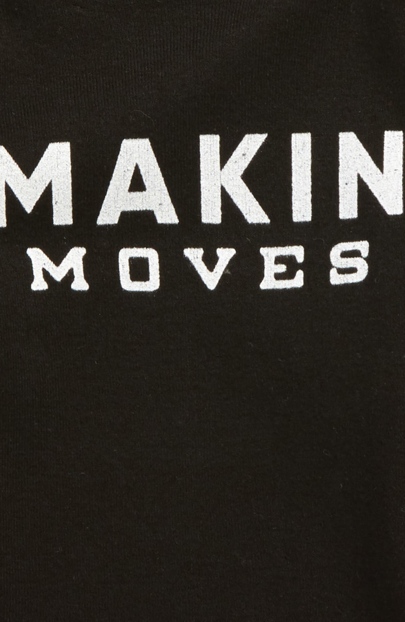 Makin' Moves Bodysuit,                             Alternate thumbnail 2, color,                             Black