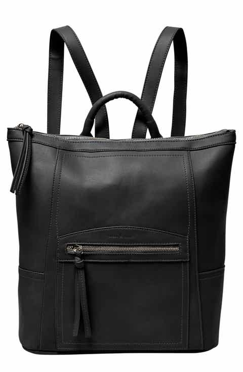 Women's Black Faux Leather Backpacks | Free Shipping | Nordstrom