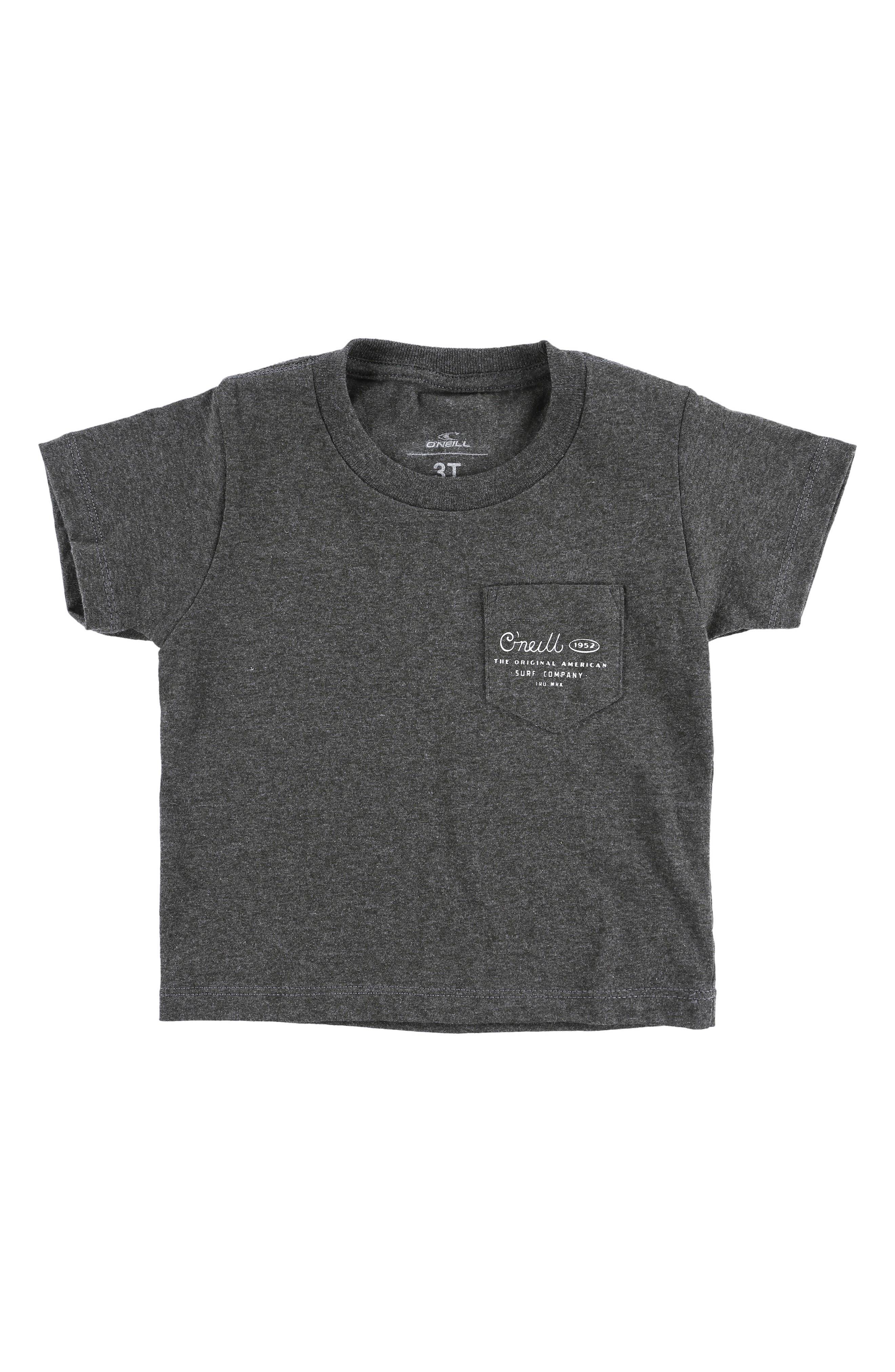 Randolph T-Shirt,                         Main,                         color, Heather Black