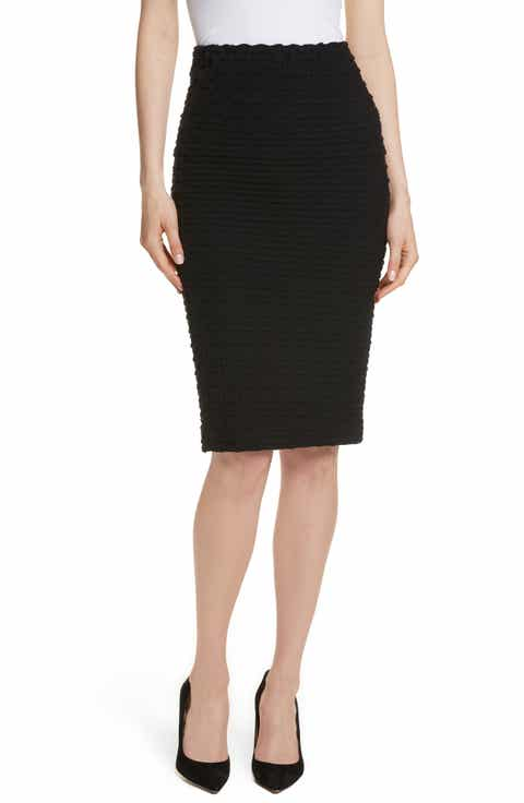 Tracy Reese Textured Tube Skirt