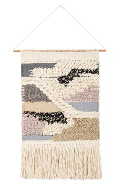 Primitives by kathy nomad woven wall hanging