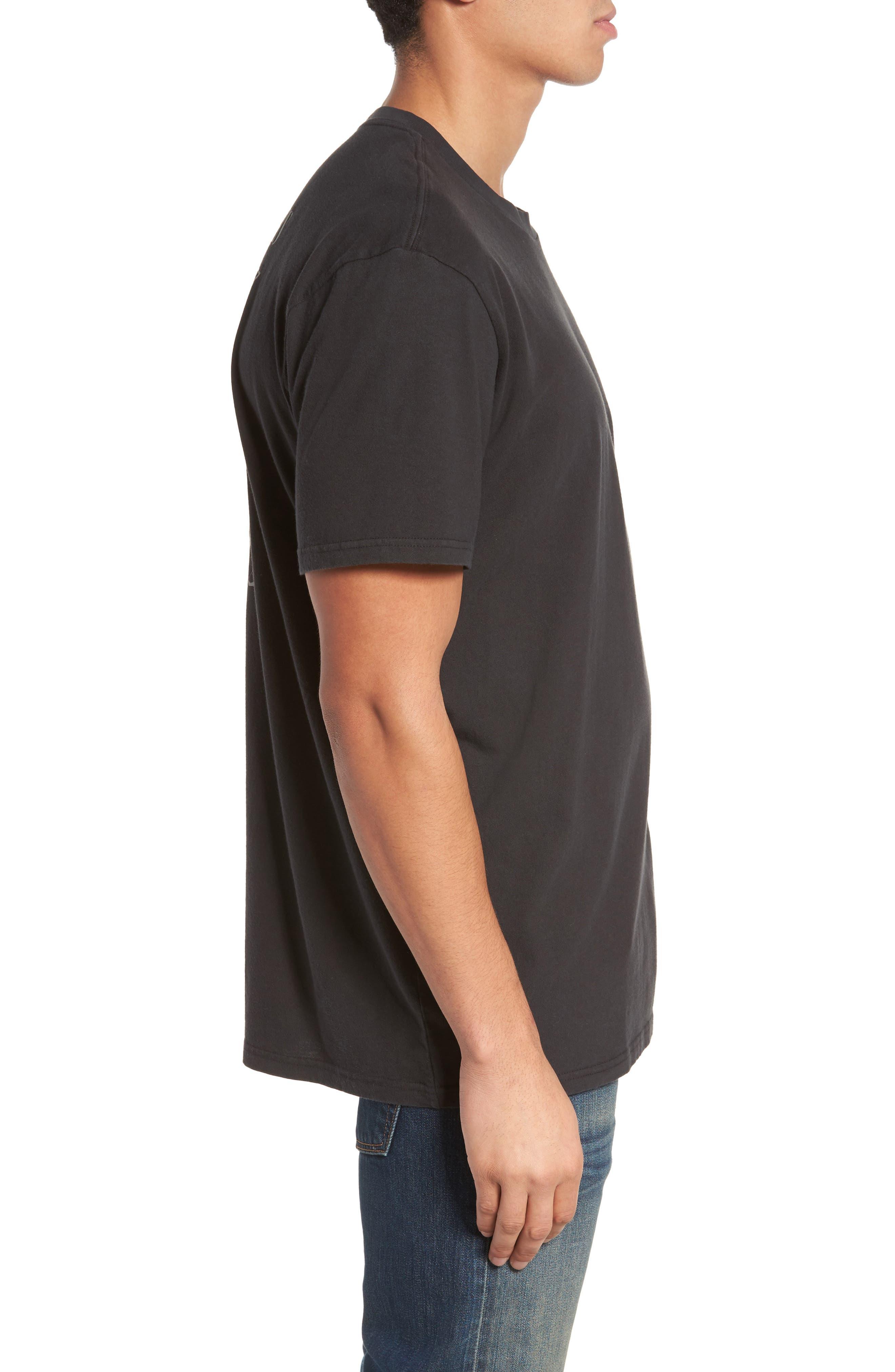 Alternate Image 3  - Billabong x Iggy Pop Iggy Stack T-Shirt