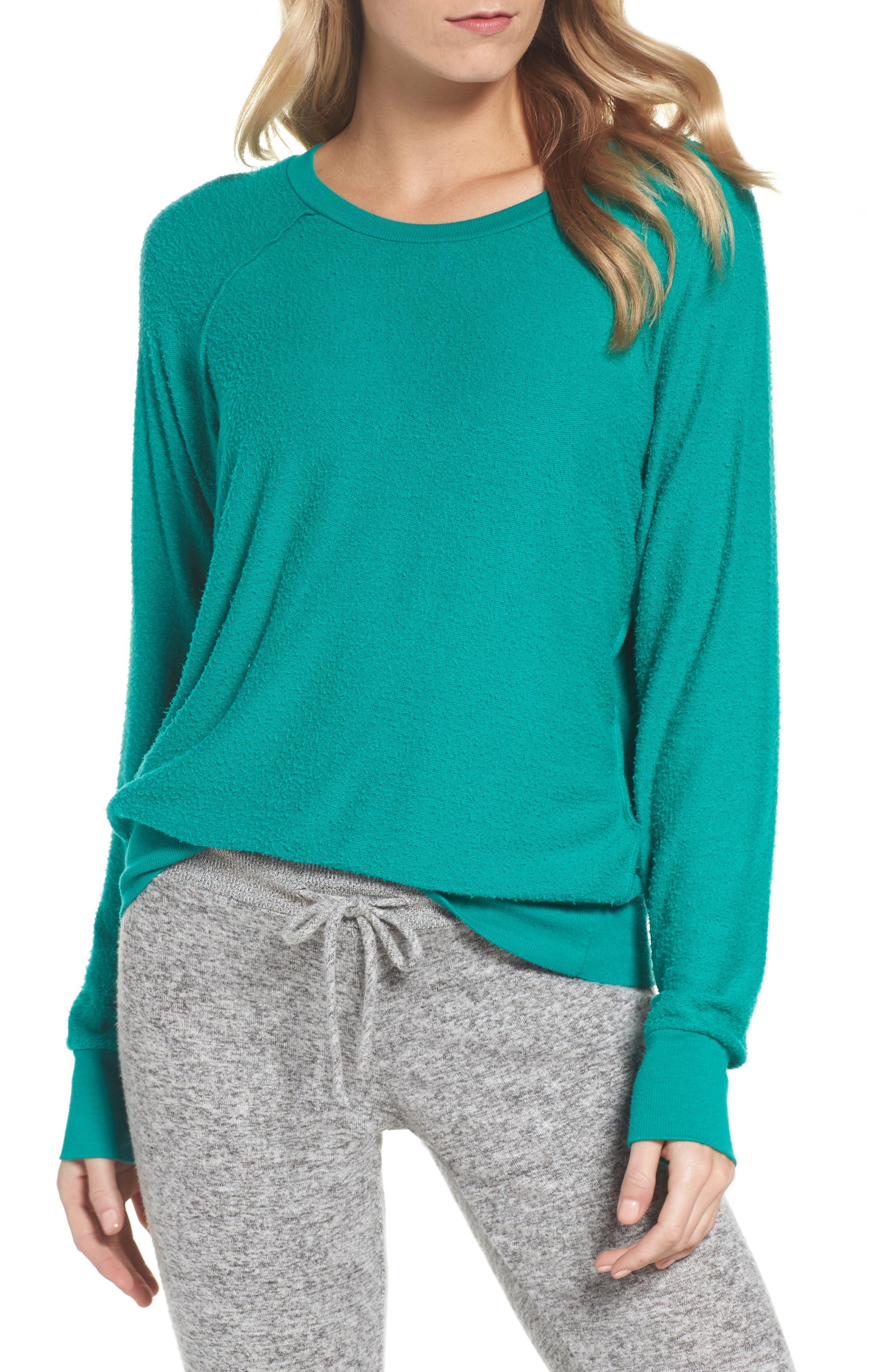 Edge Sweatshirt,                             Main thumbnail 1, color,                             Kelly