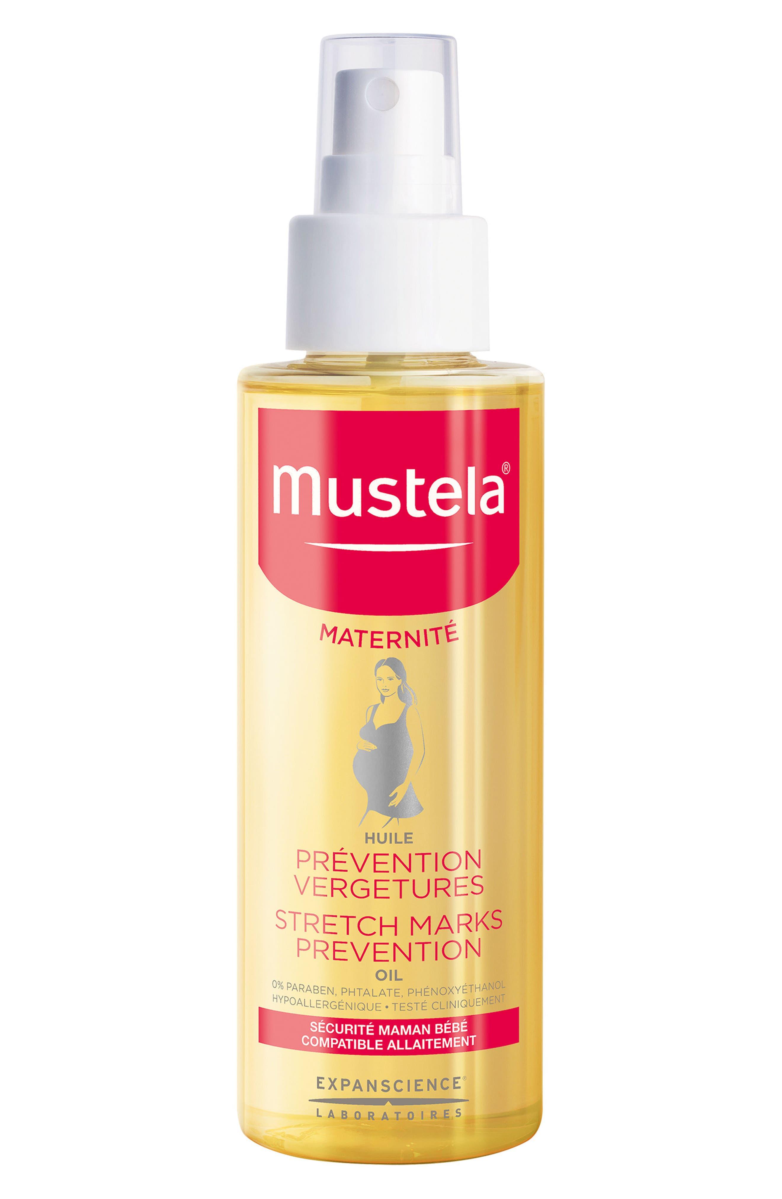 Stretch Marks Prevention Oil,                         Main,                         color, White
