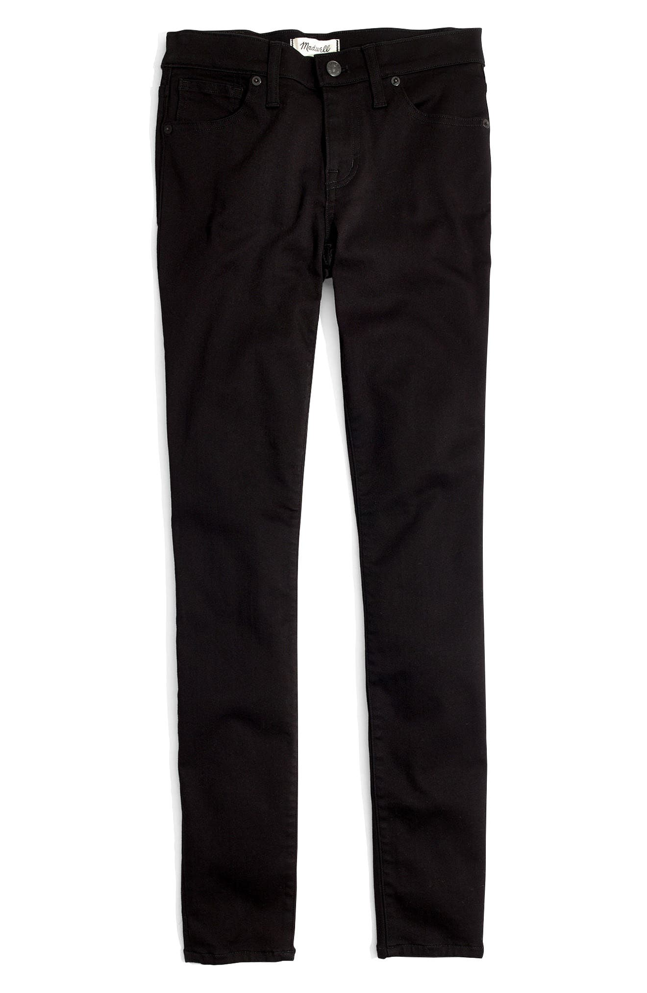 Alternate Image 3  - Madewell 8-Inch Skinny Jeans (Carbondale Wash)