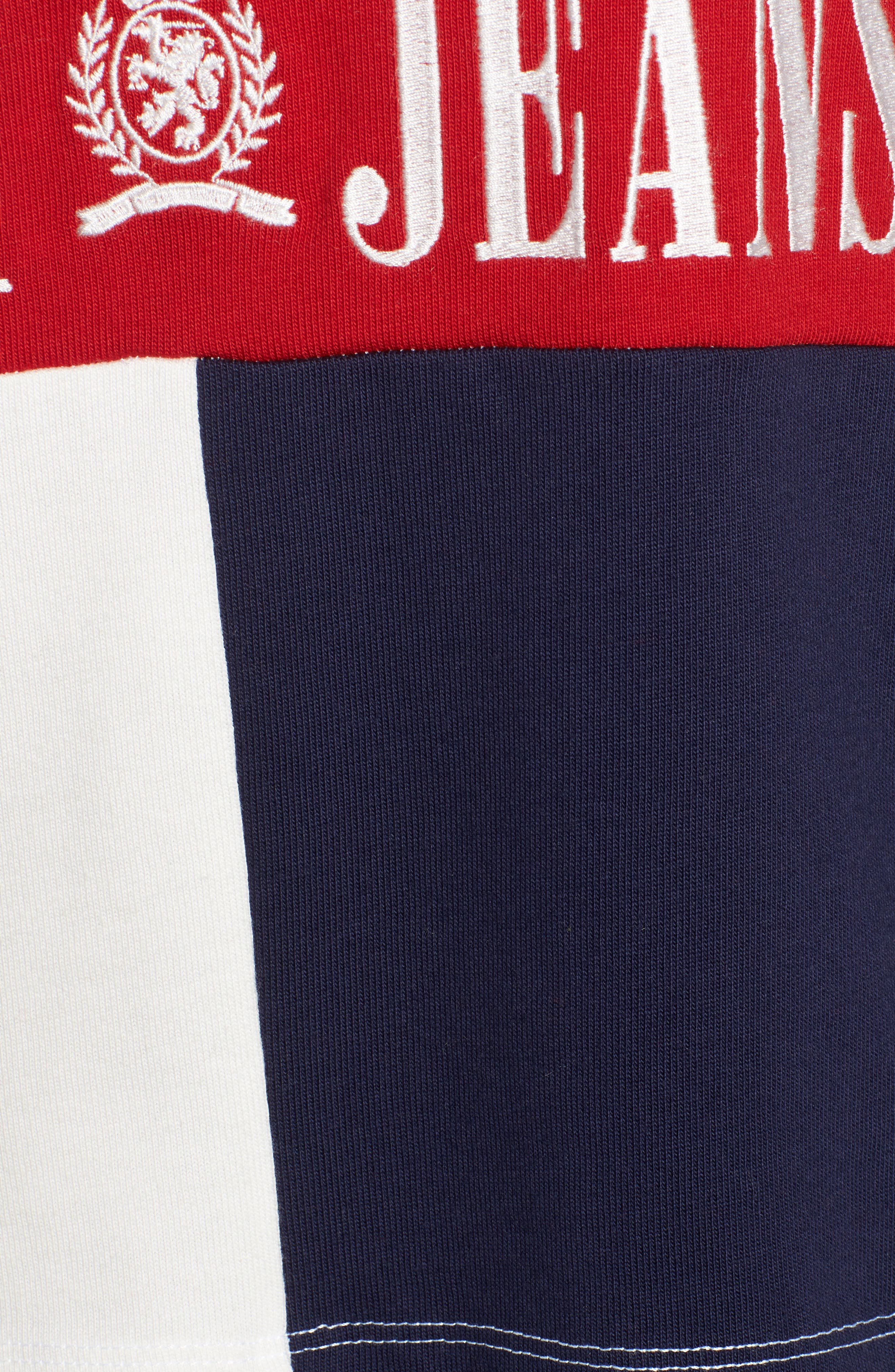 Alternate Image 5  - TOMMY JEANS '90s Crop Rugby Top