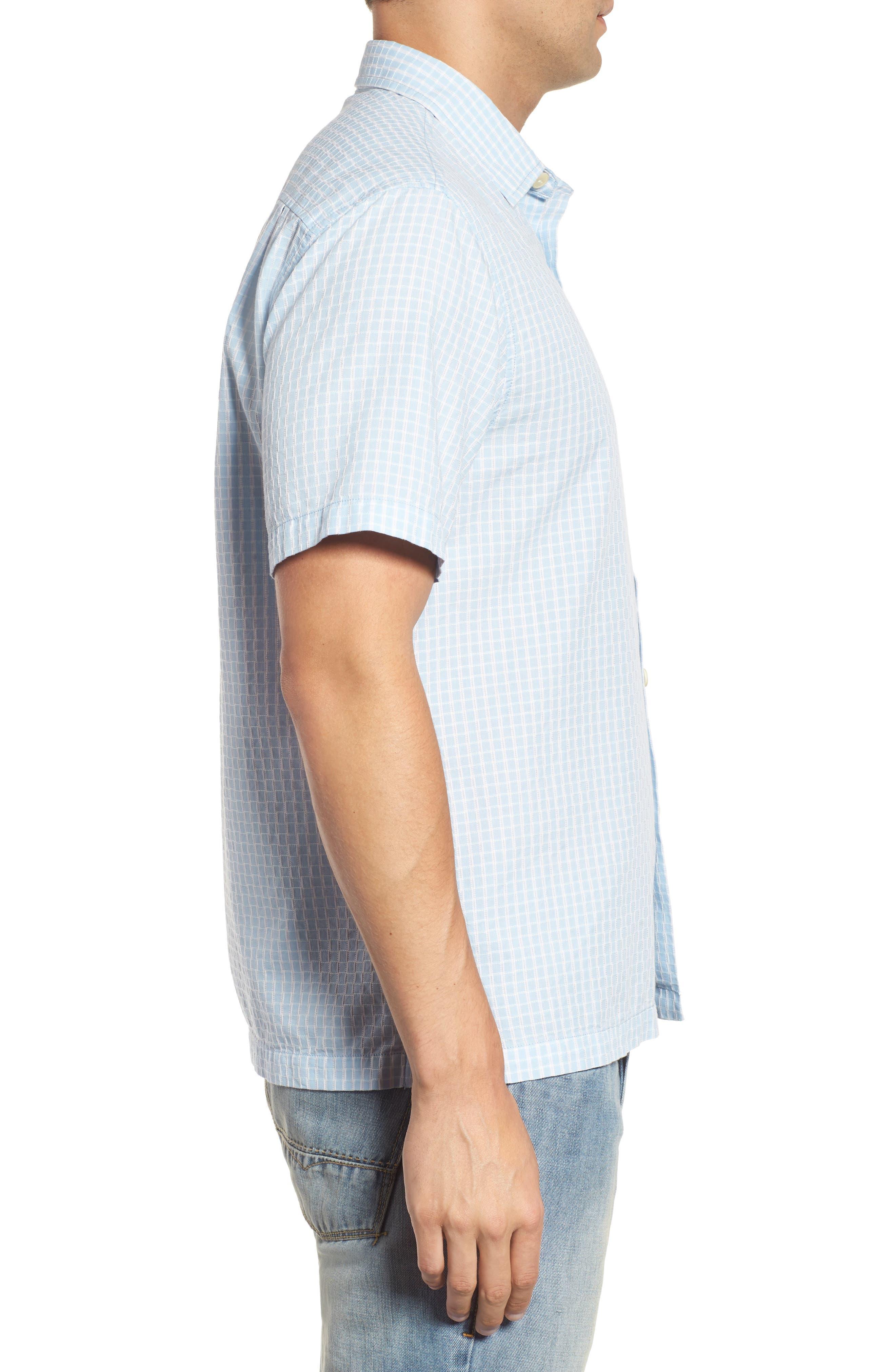 Once in a Tile Regular Fit Sport Shirt,                             Alternate thumbnail 3, color,                             Opal