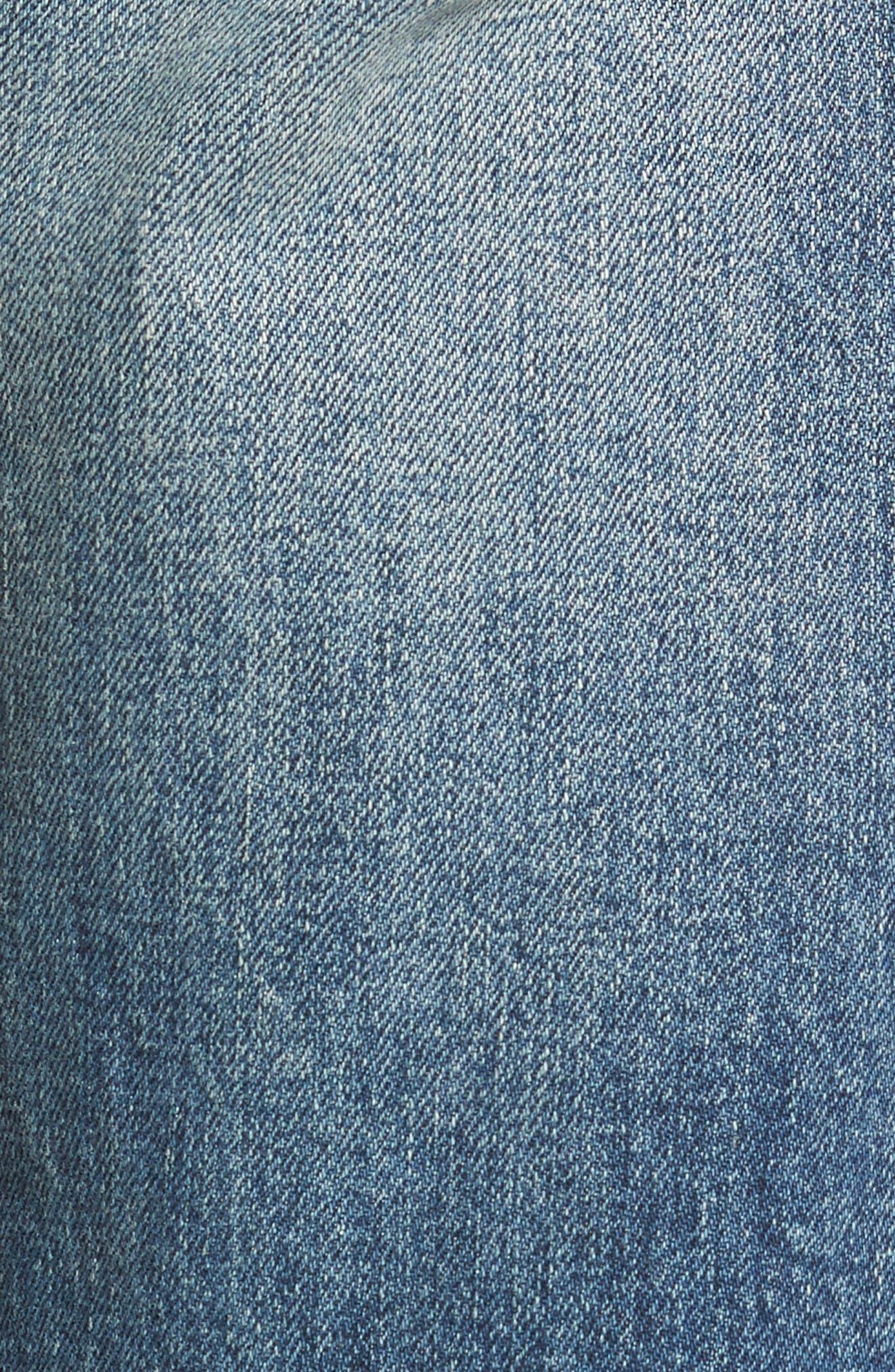 Brixton Slim Straight Fit Jeans,                             Alternate thumbnail 5, color,                             Harken