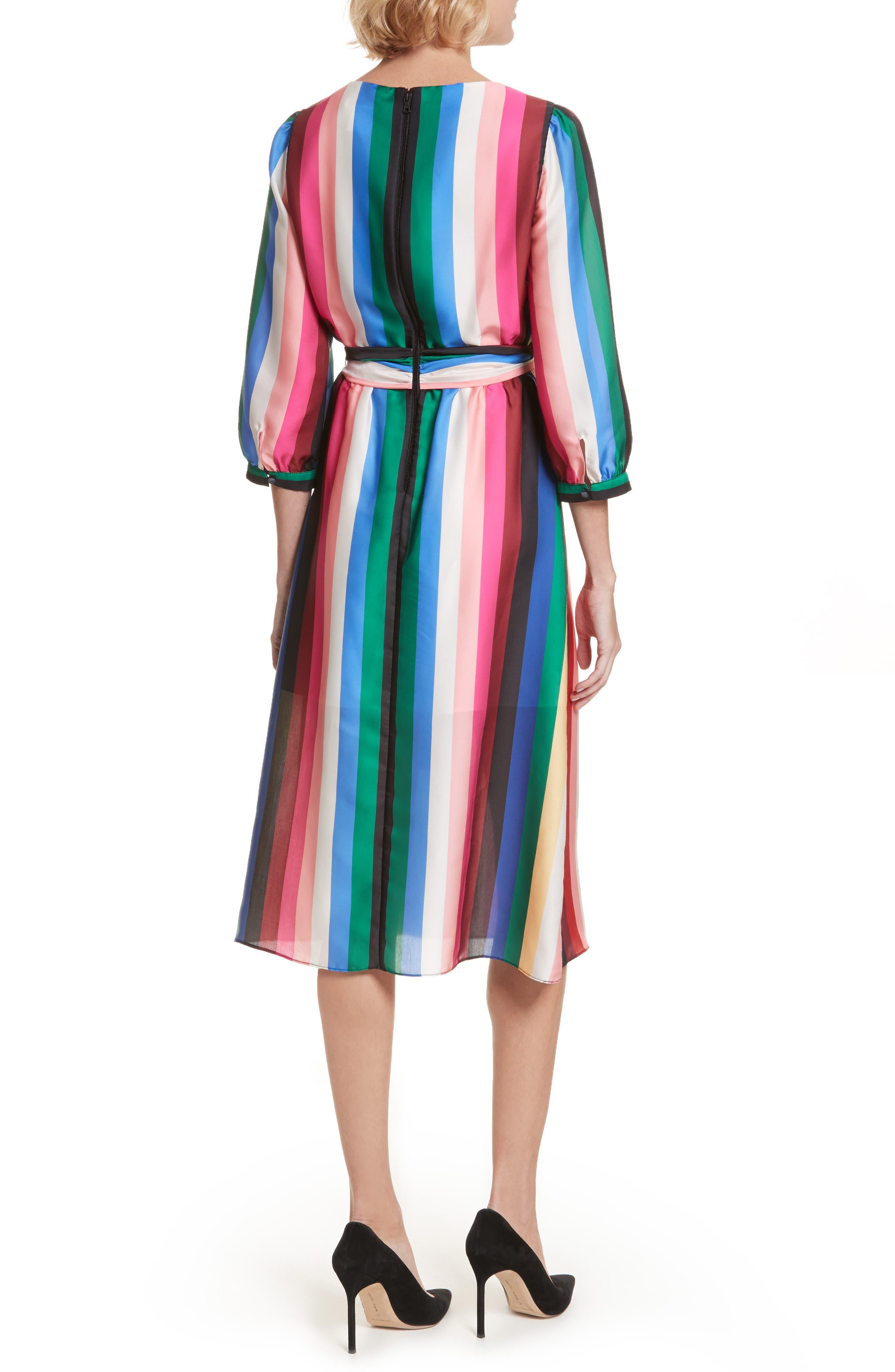 Alternate Image 2  - Alice + Olivia Dyanna Midi Dress