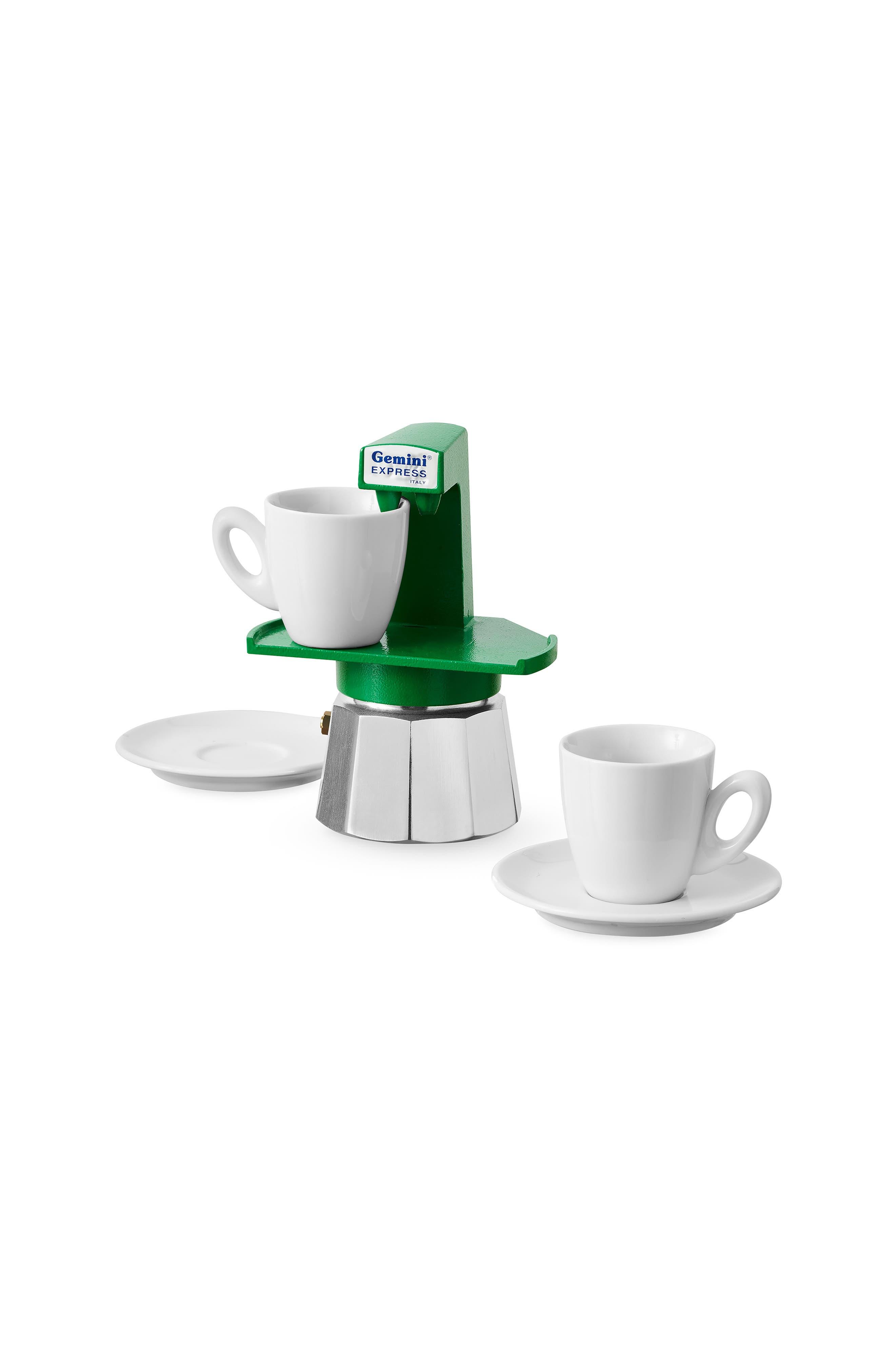Gemini Espresso Maker,                             Alternate thumbnail 2, color,                             Green