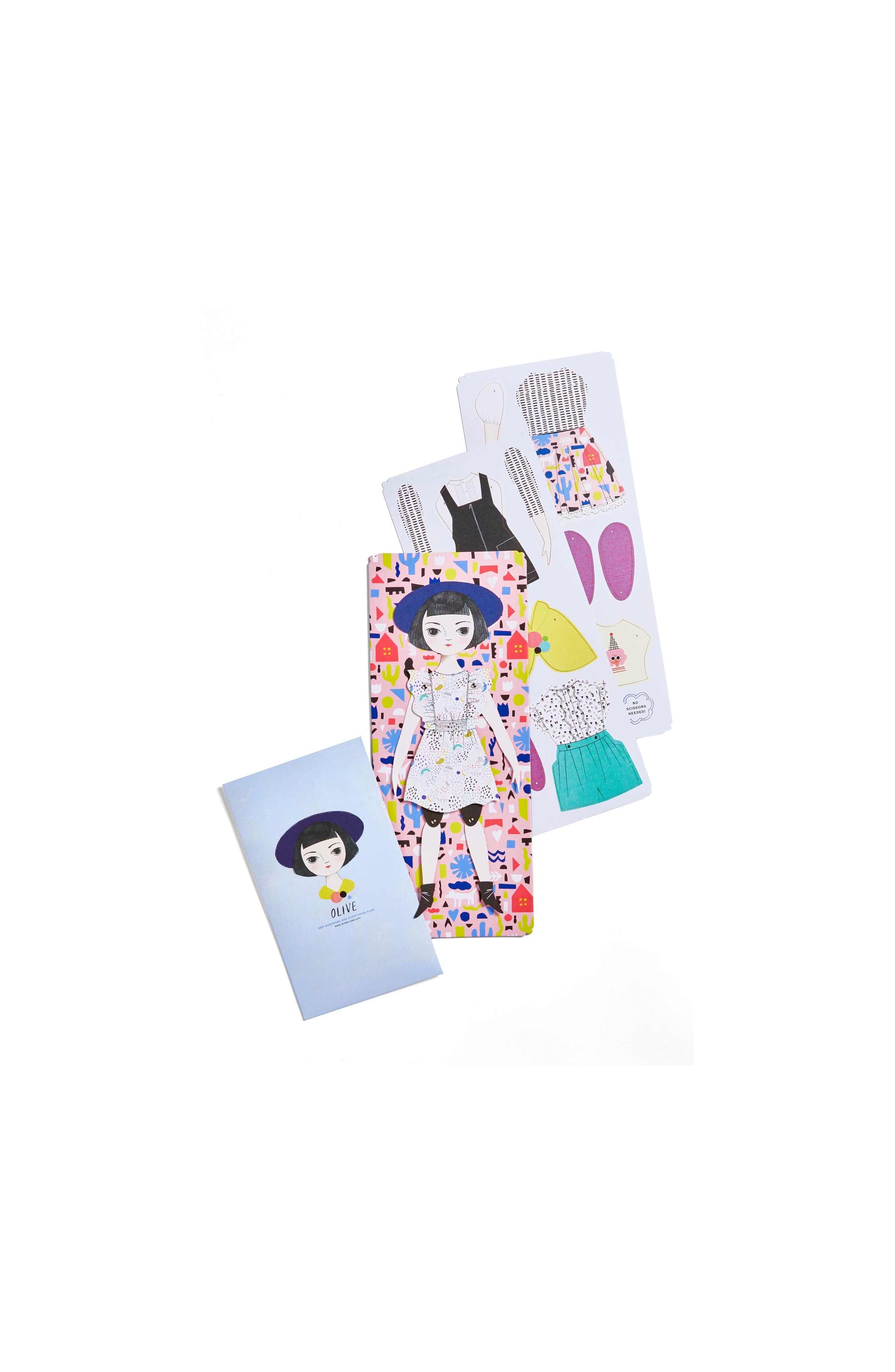 Of Unusual Kind Olive Paper Doll Kit
