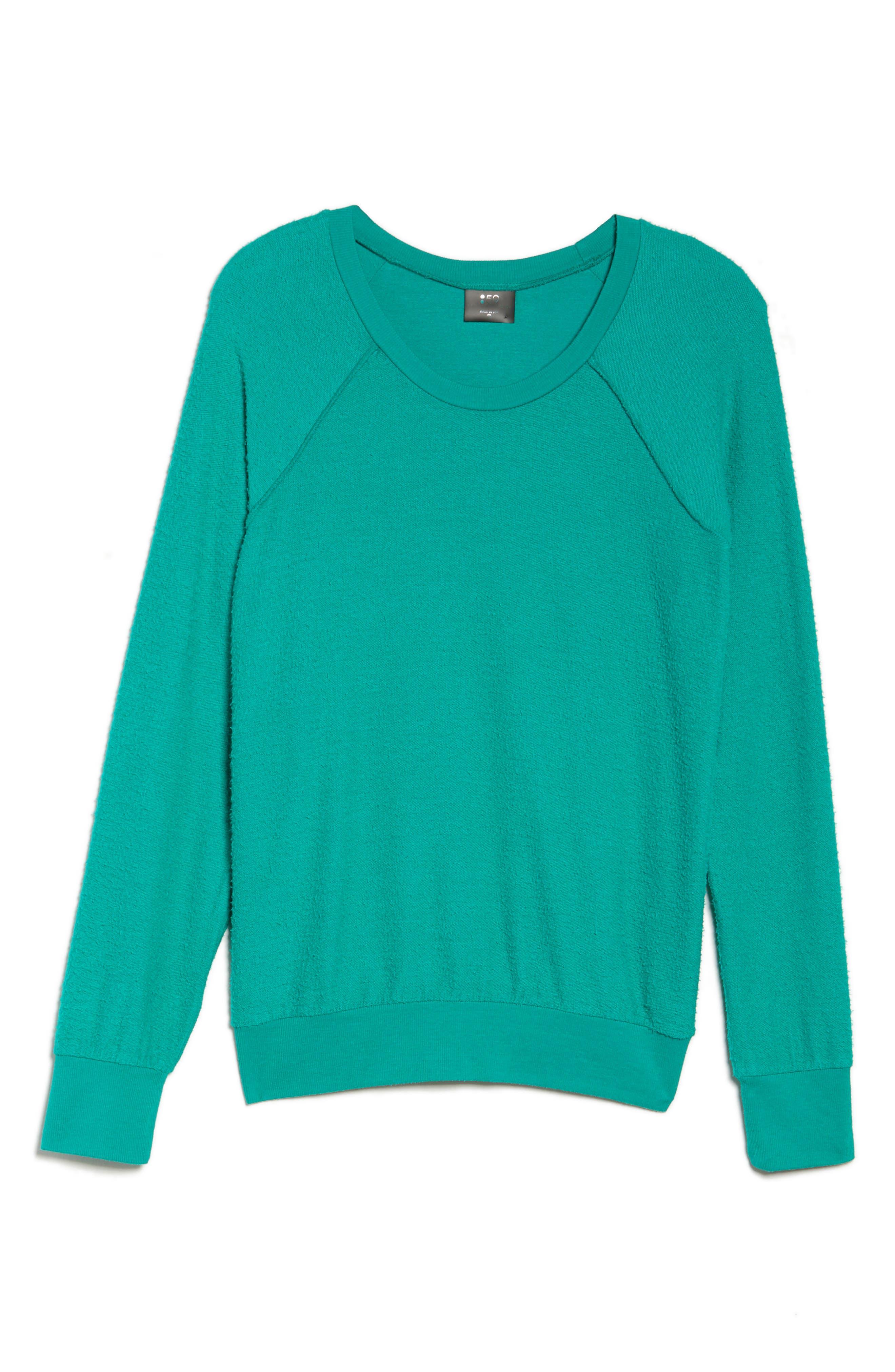 Edge Sweatshirt,                             Alternate thumbnail 7, color,                             Kelly