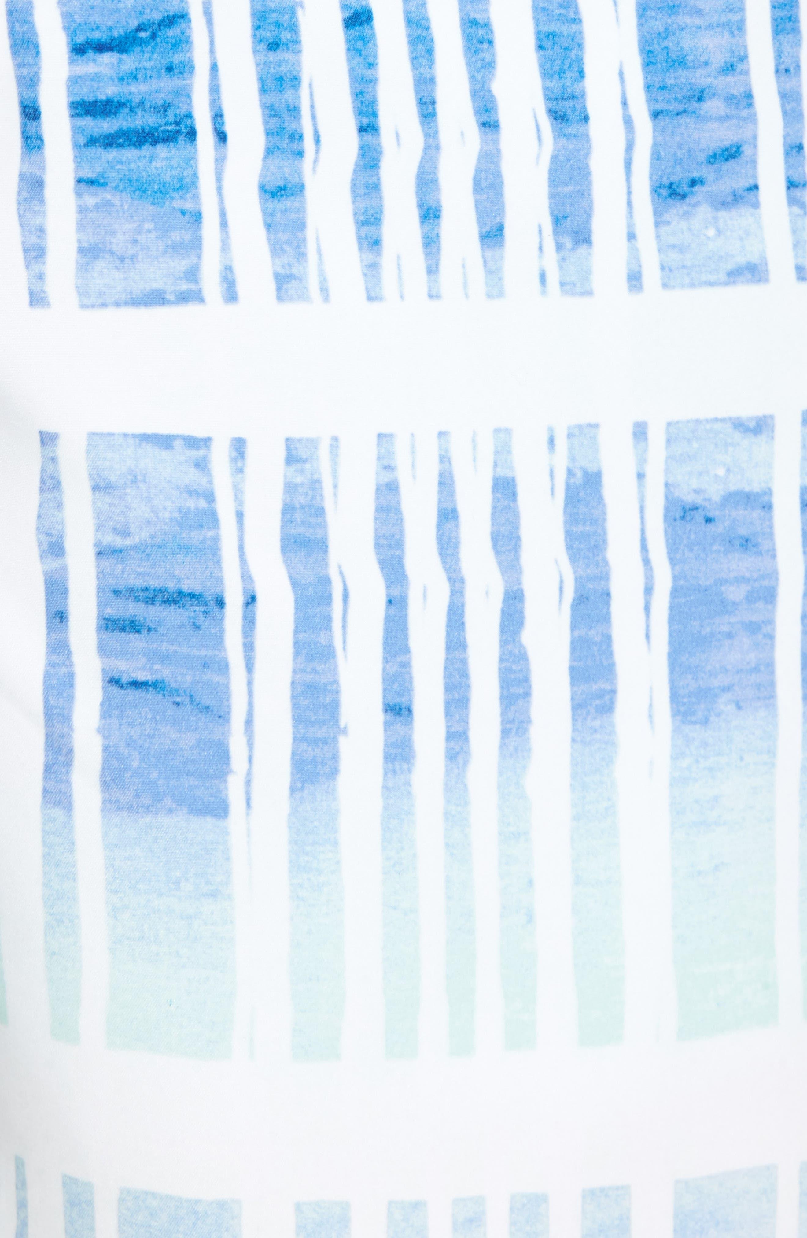 Baja Okeechobee Board Shorts,                             Alternate thumbnail 5, color,                             Santorini Blue