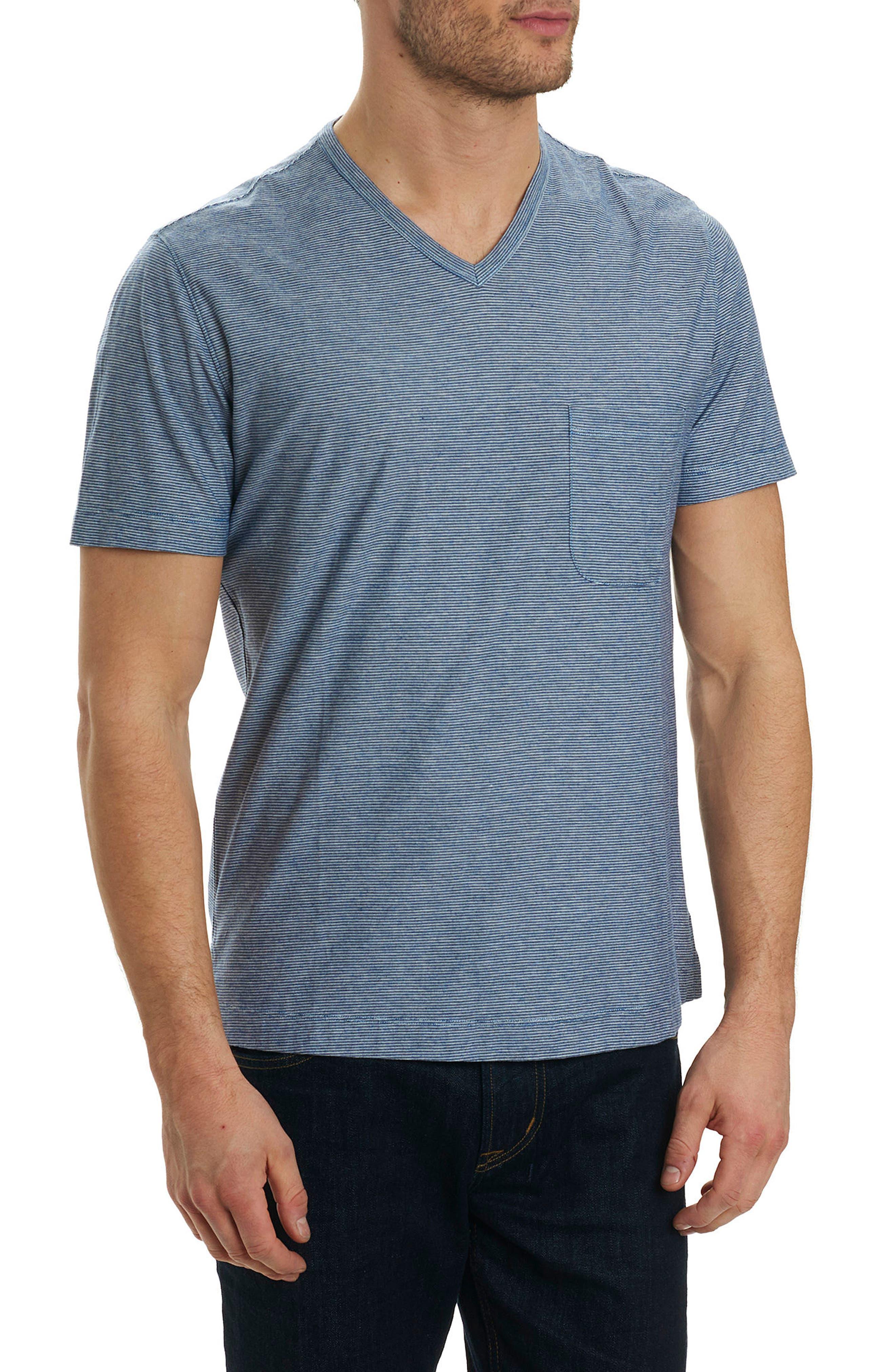 Robert Graham Orchidlands Stripe T-Shirt