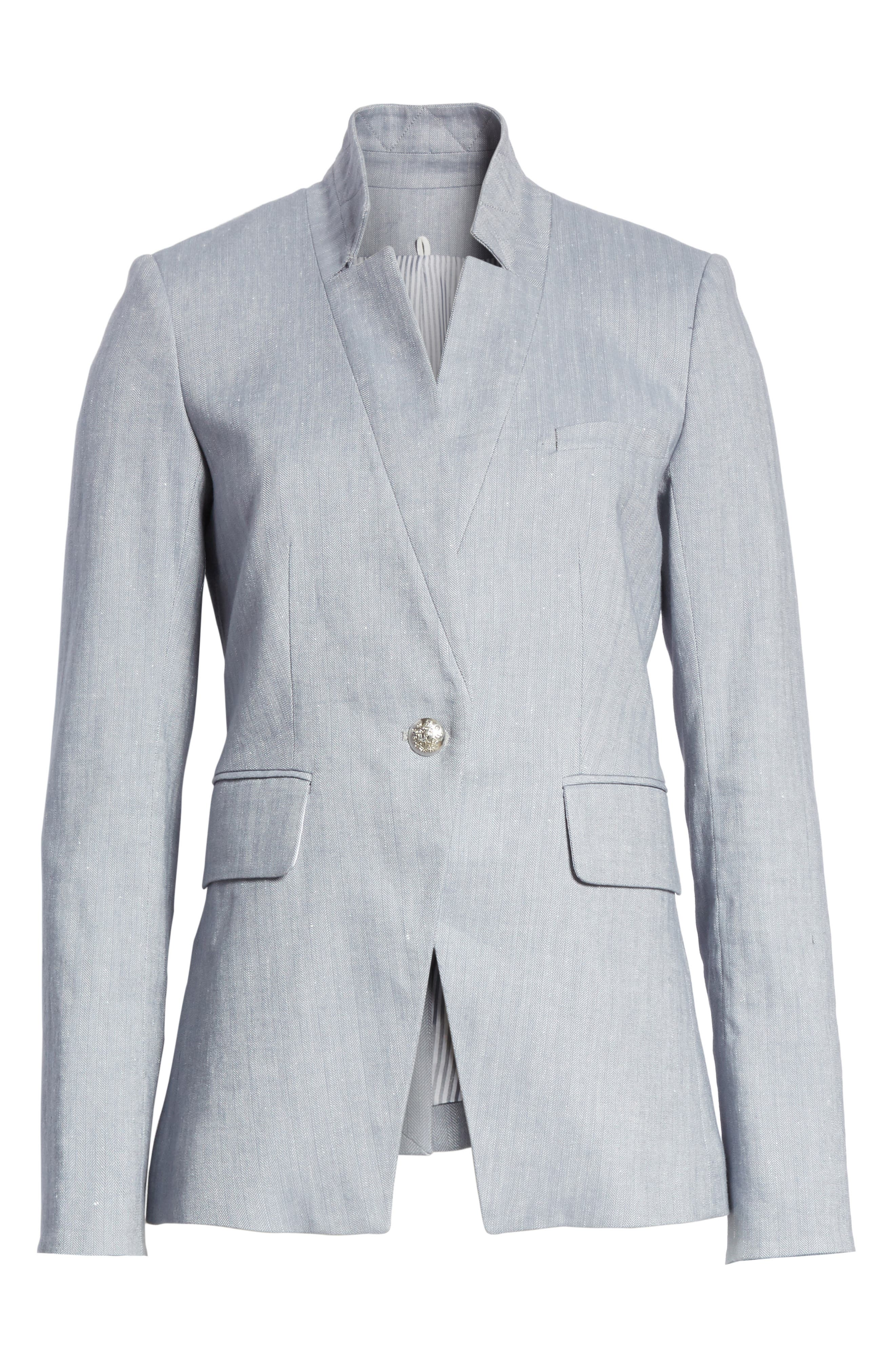 Alternate Image 6  - Veronica Beard Upcollar Jacket