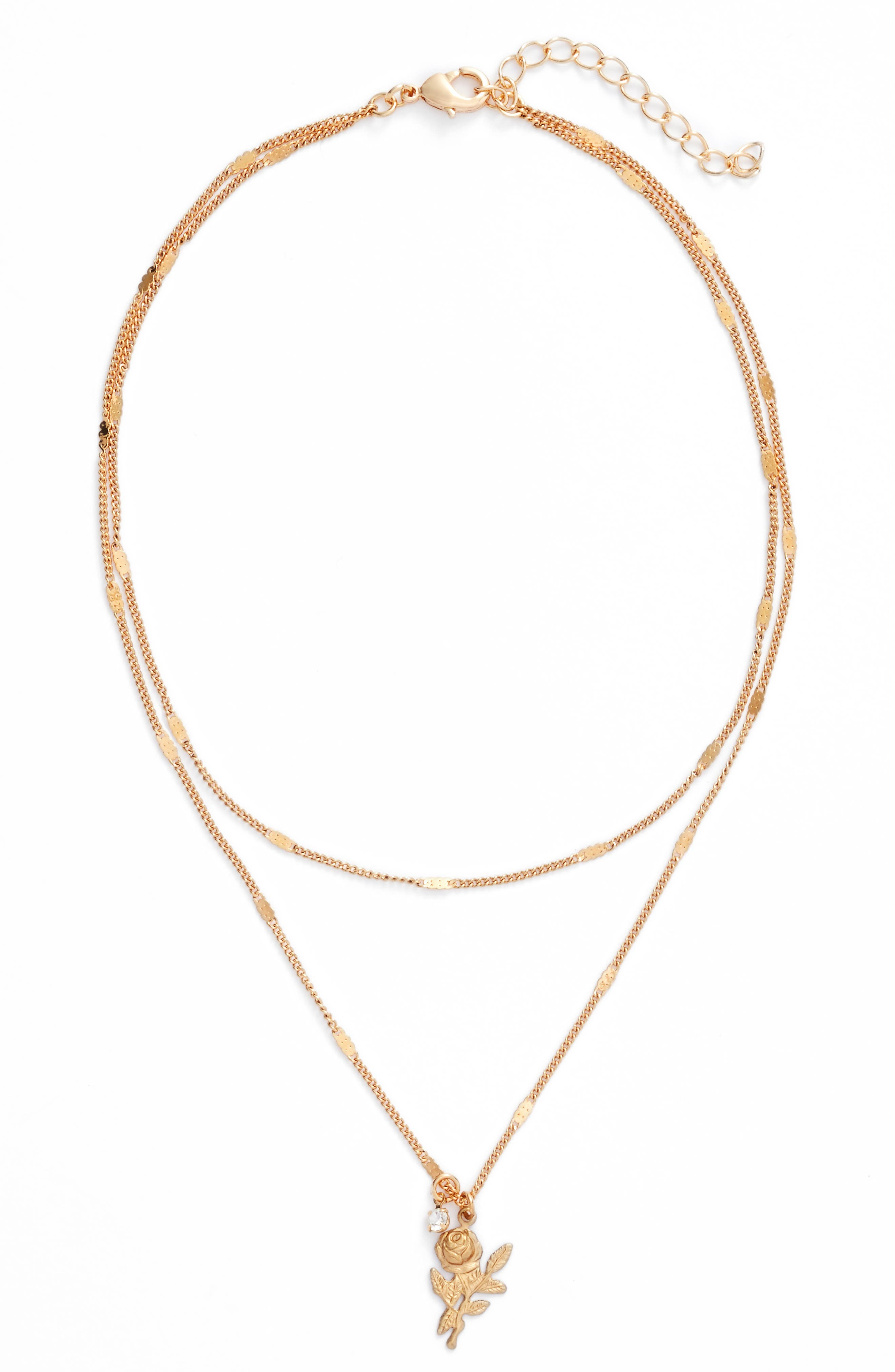 Main Image - FRASIER STERLING Santa Monica Rose Layered Choker