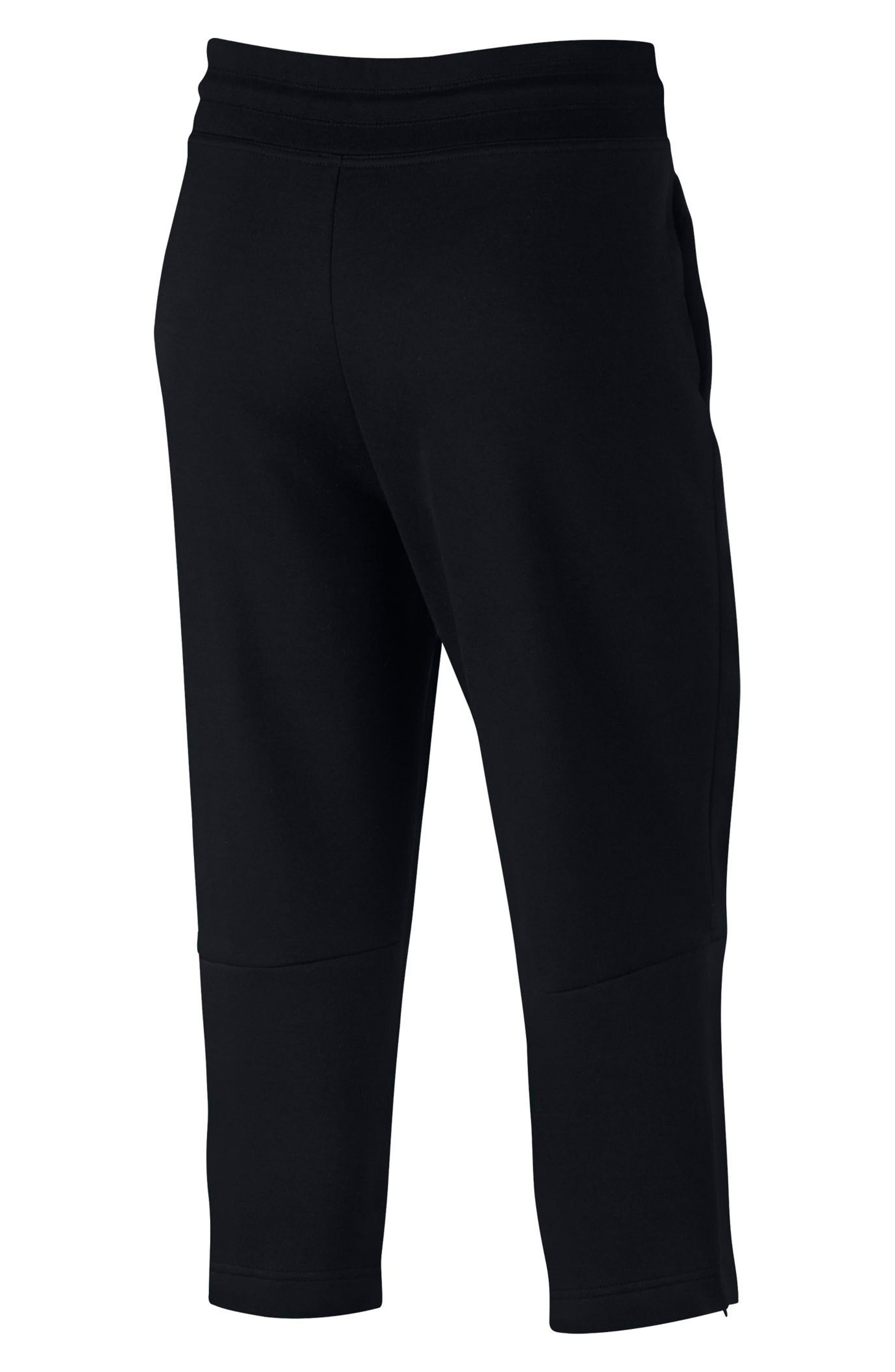 Sportswear Women's Tech Fleece Sneaker Pants,                             Alternate thumbnail 9, color,                             Black/ Black
